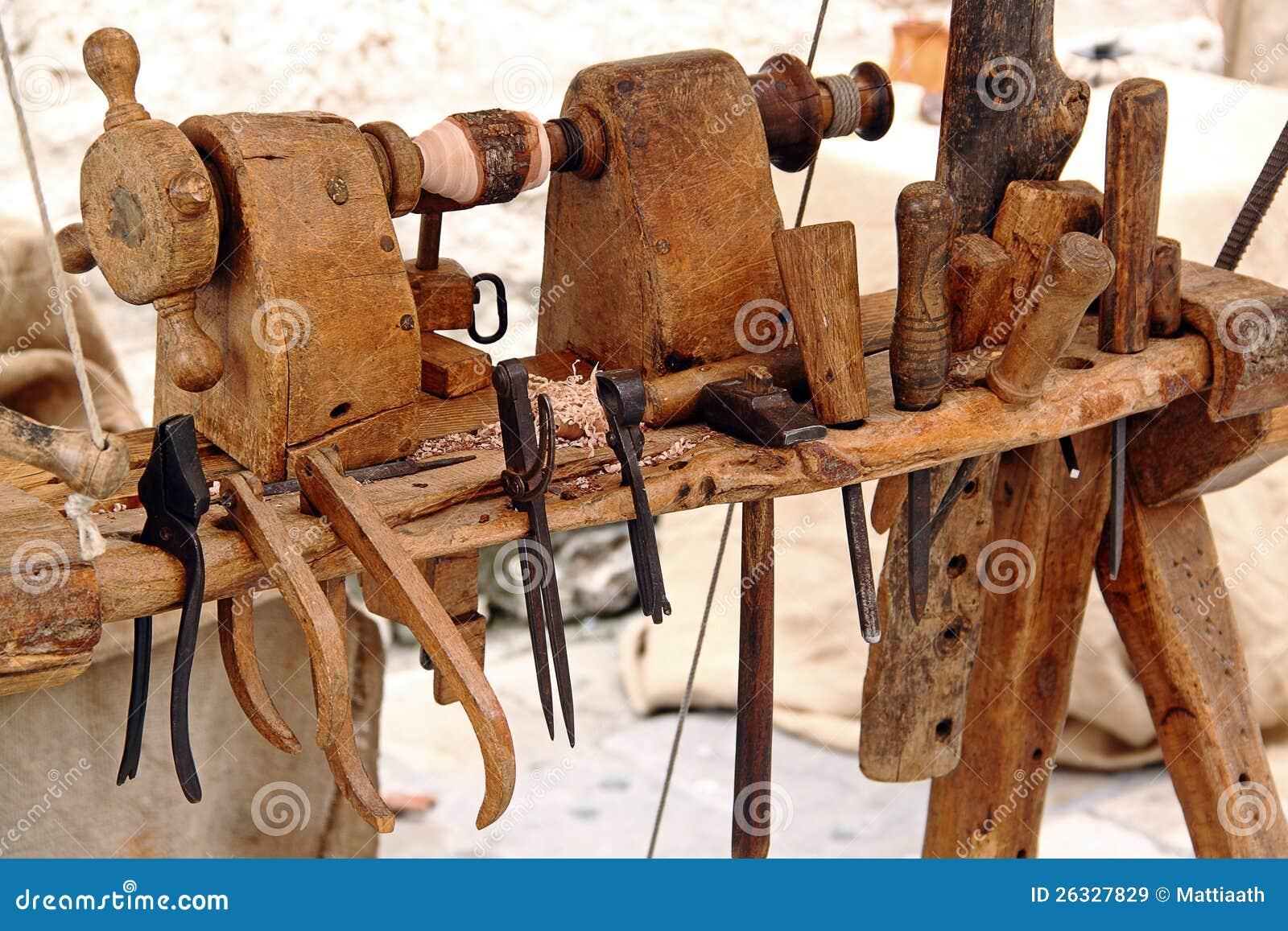 Tornio E Strumenti Per Falegnameria Immagine Stock Immagine di lavoro, attività 26327829 # Travail Du Bois Menuiserie