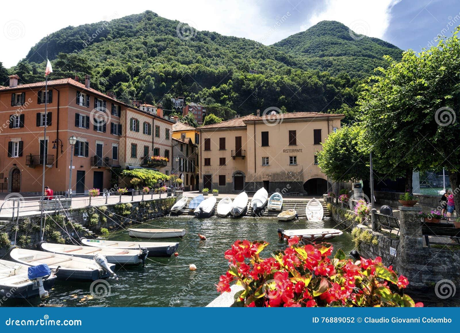 Torno (Como), village along the Lario