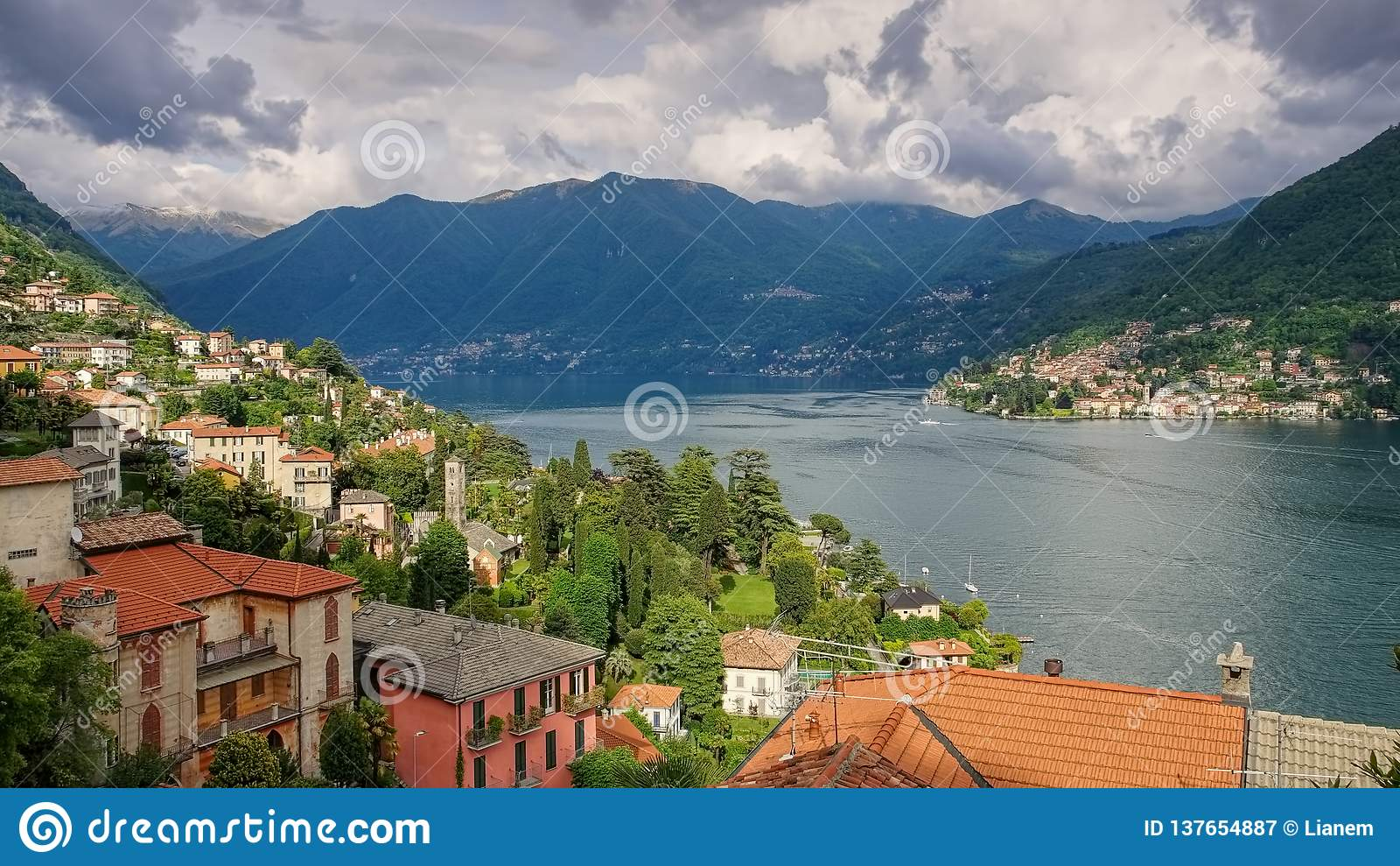 Torno, See Como in Italien