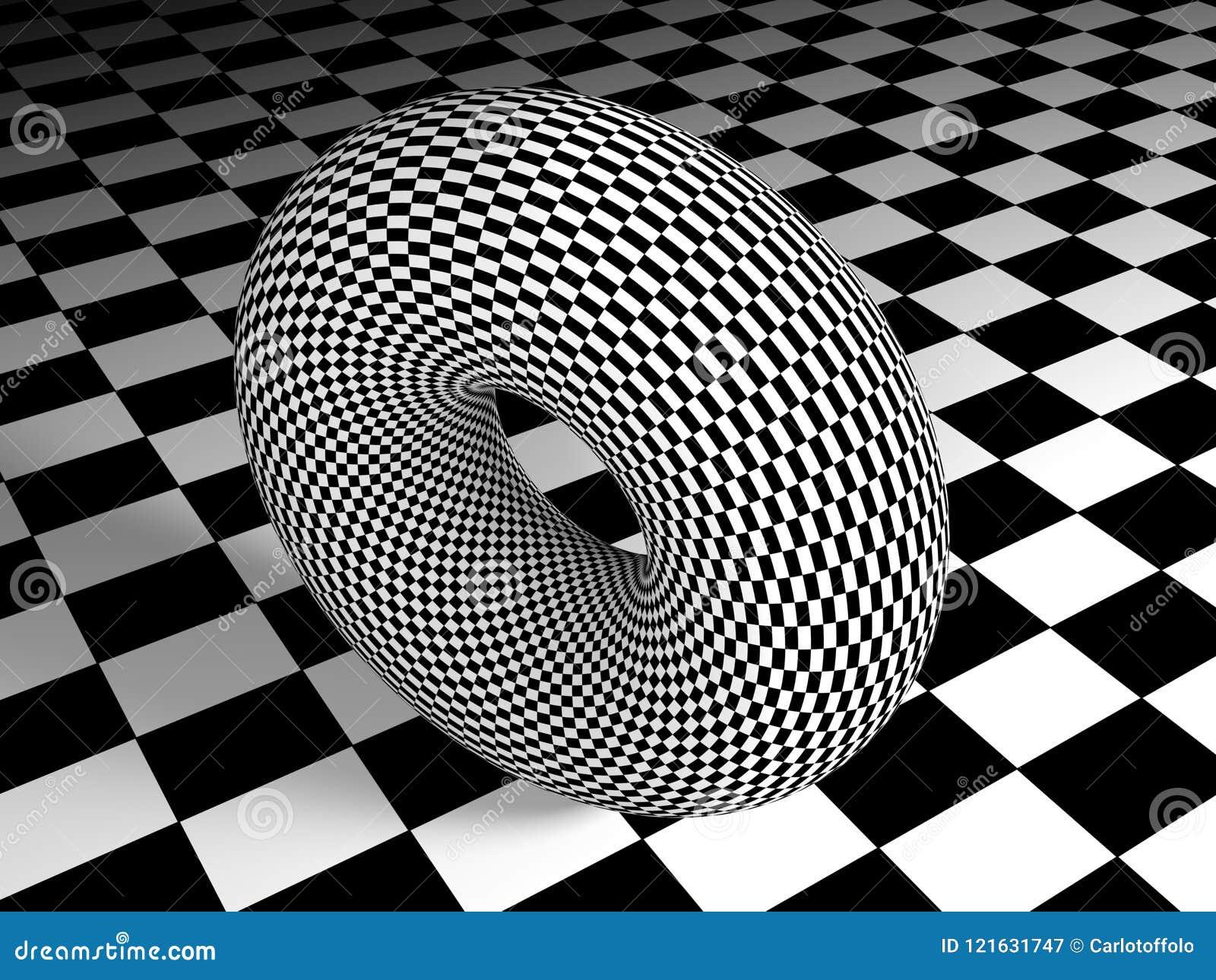 Toro Textured na superfície textured - rendição 3D