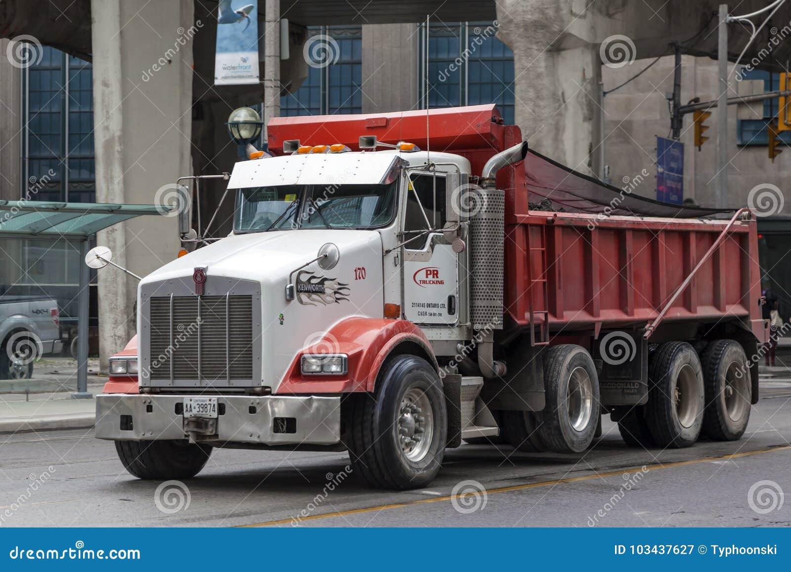Download Kenworth T880 Dump Truck Editorial Photography Image Of Dumper