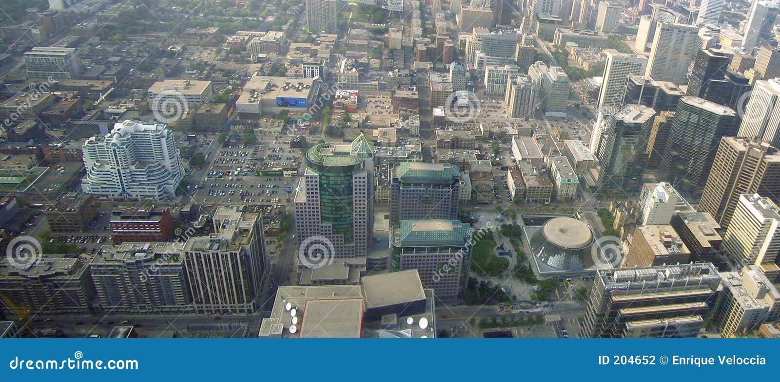 Toronto door de lucht