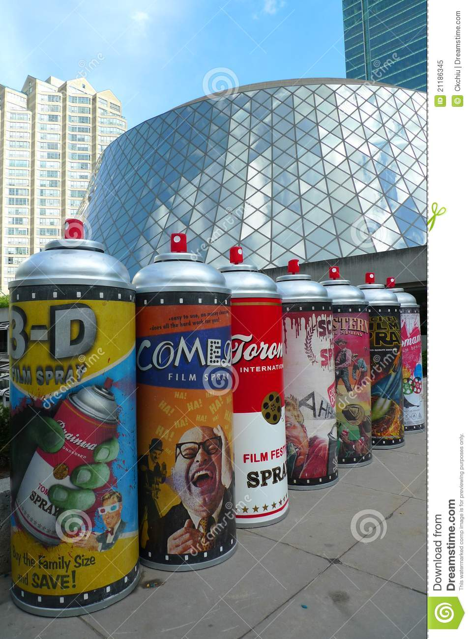 Toronto Film Festival and art installation