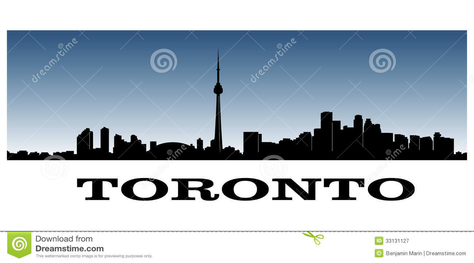 Toronto linia horyzontu