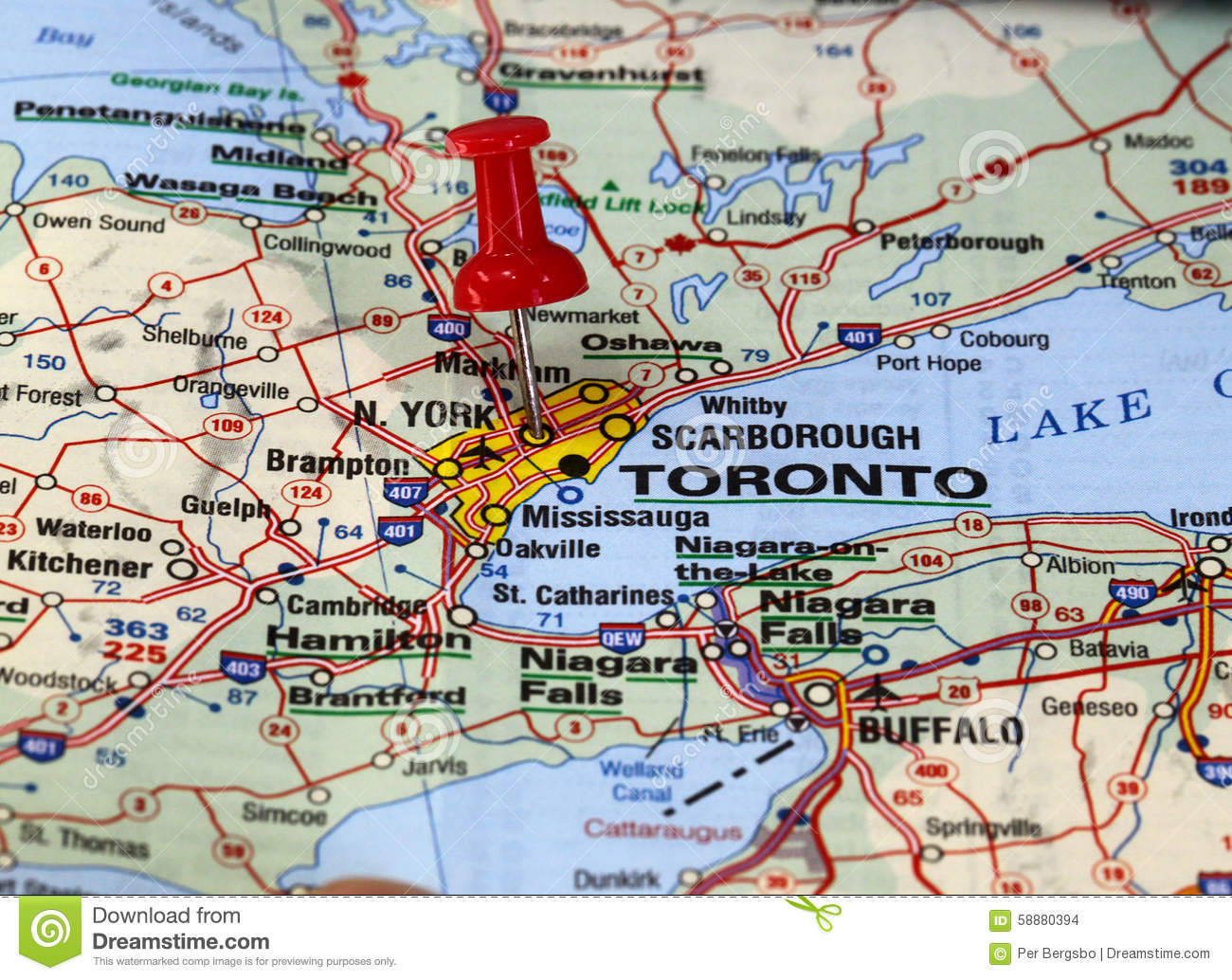 Toronto Stock Photo Image Of Push Location City Niagara