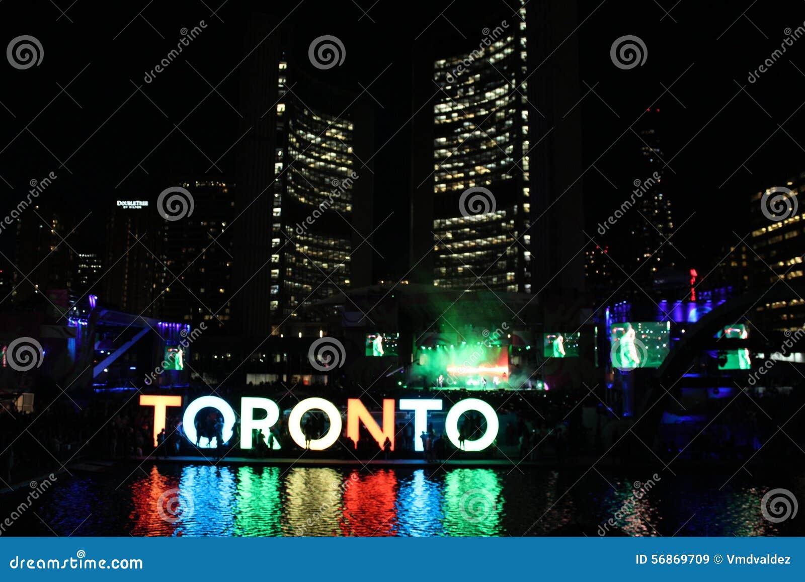 Download Toronto Nathan Philip Square (Pan-am Games) Stock Image - Image of philip, panam: 56869709