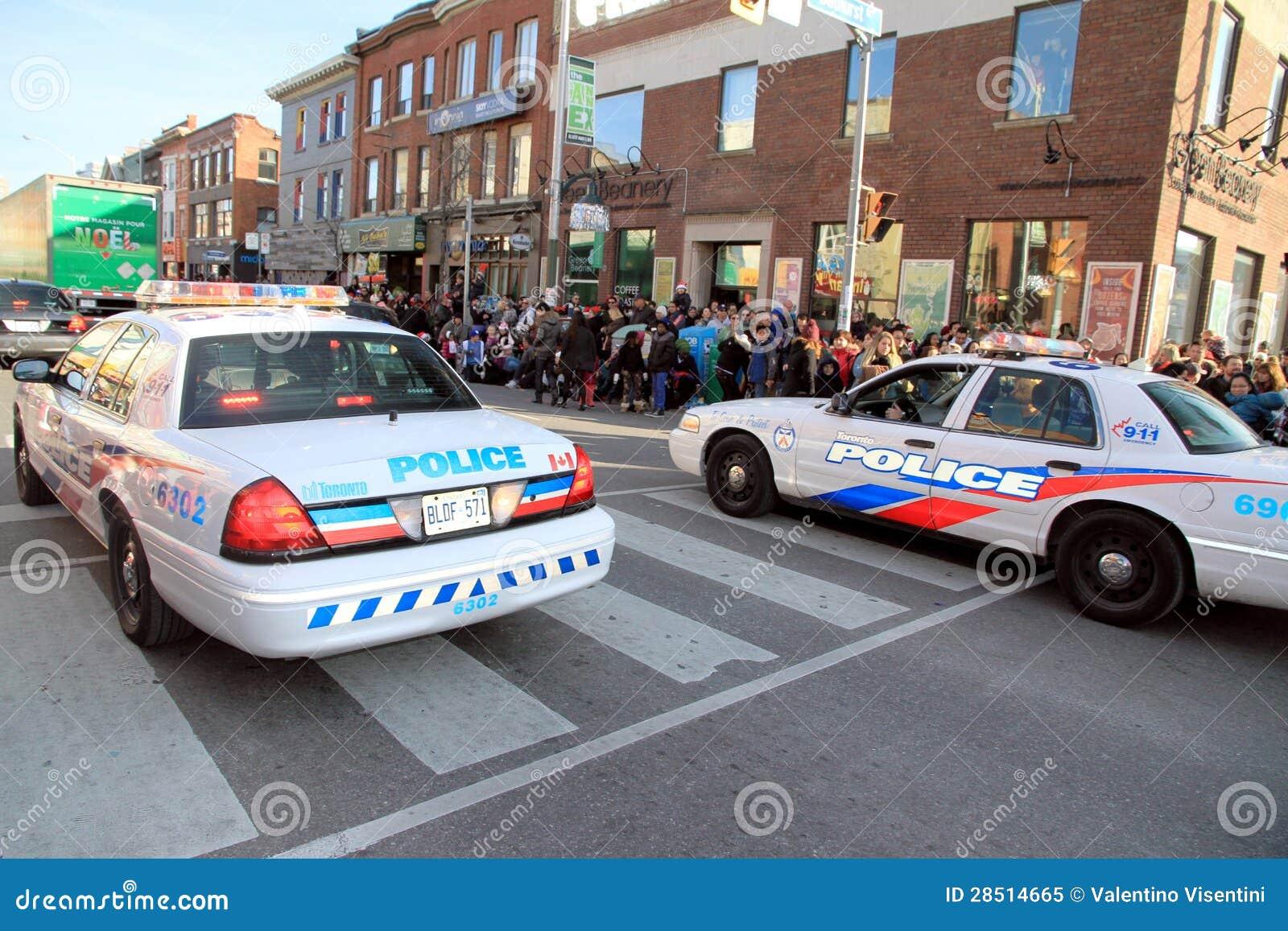 Toronto Police Cars