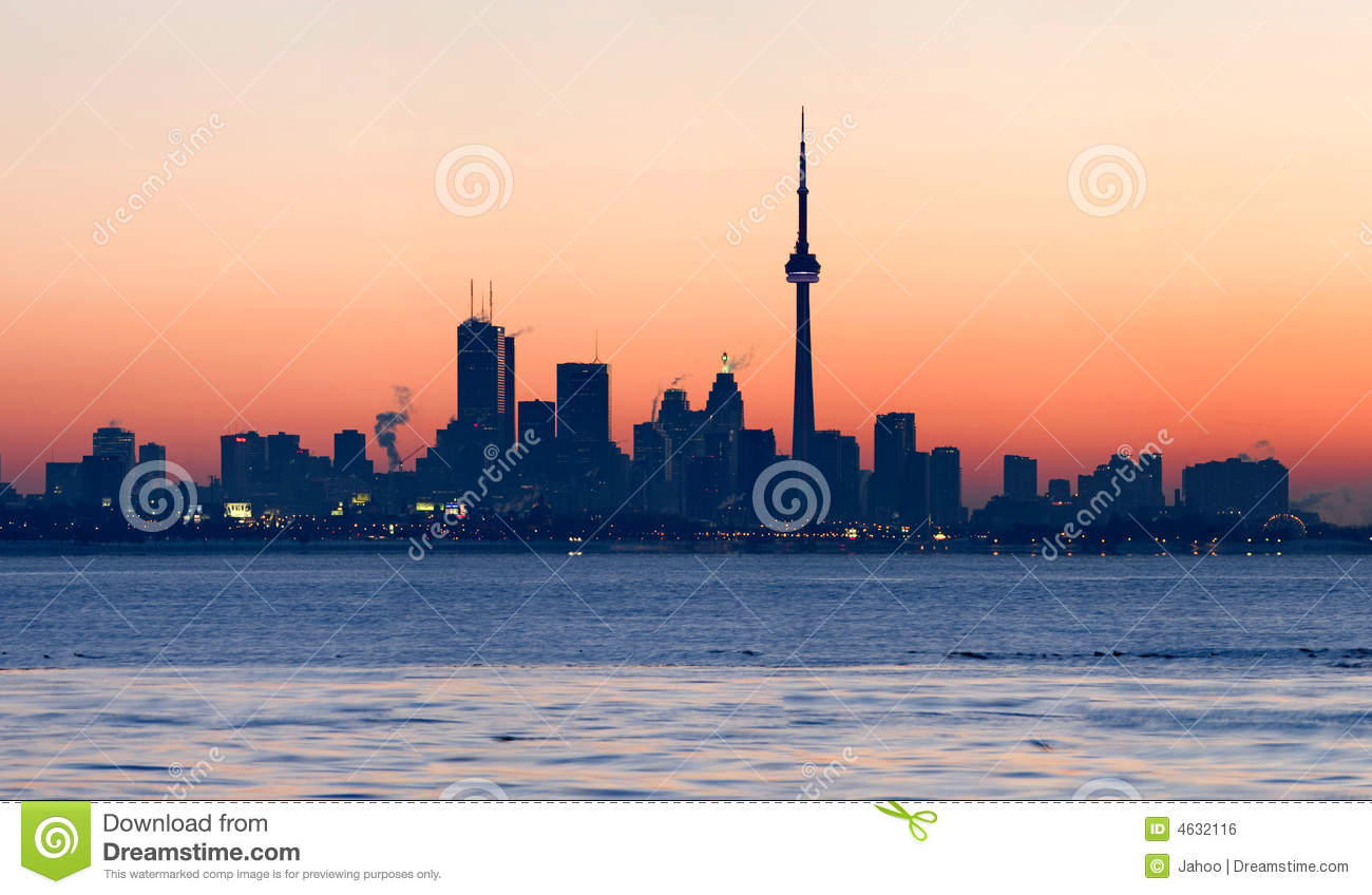 Toronto Skyline at dawn