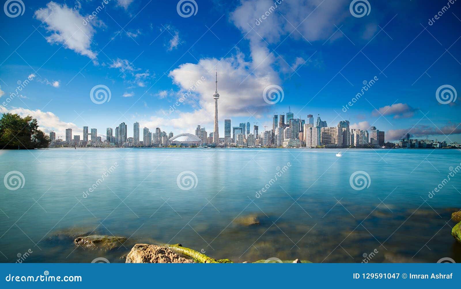 Toronto-Skyline in Ontario Kanada