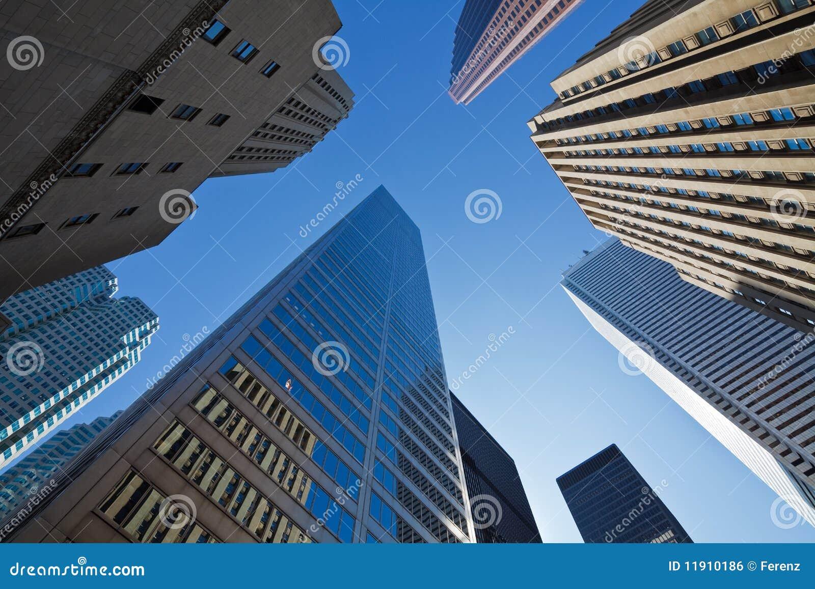 Toronto Skyscrapers Royalty Free Stock Image Image 11910186