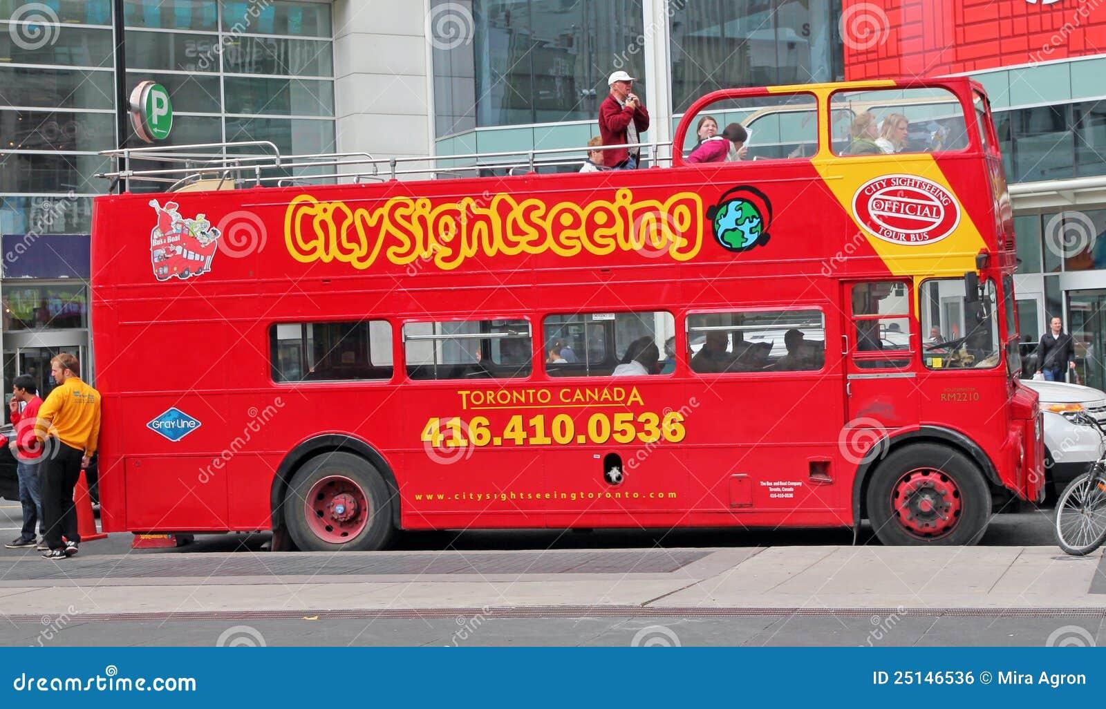 Toronto Double Decker Bus Tour