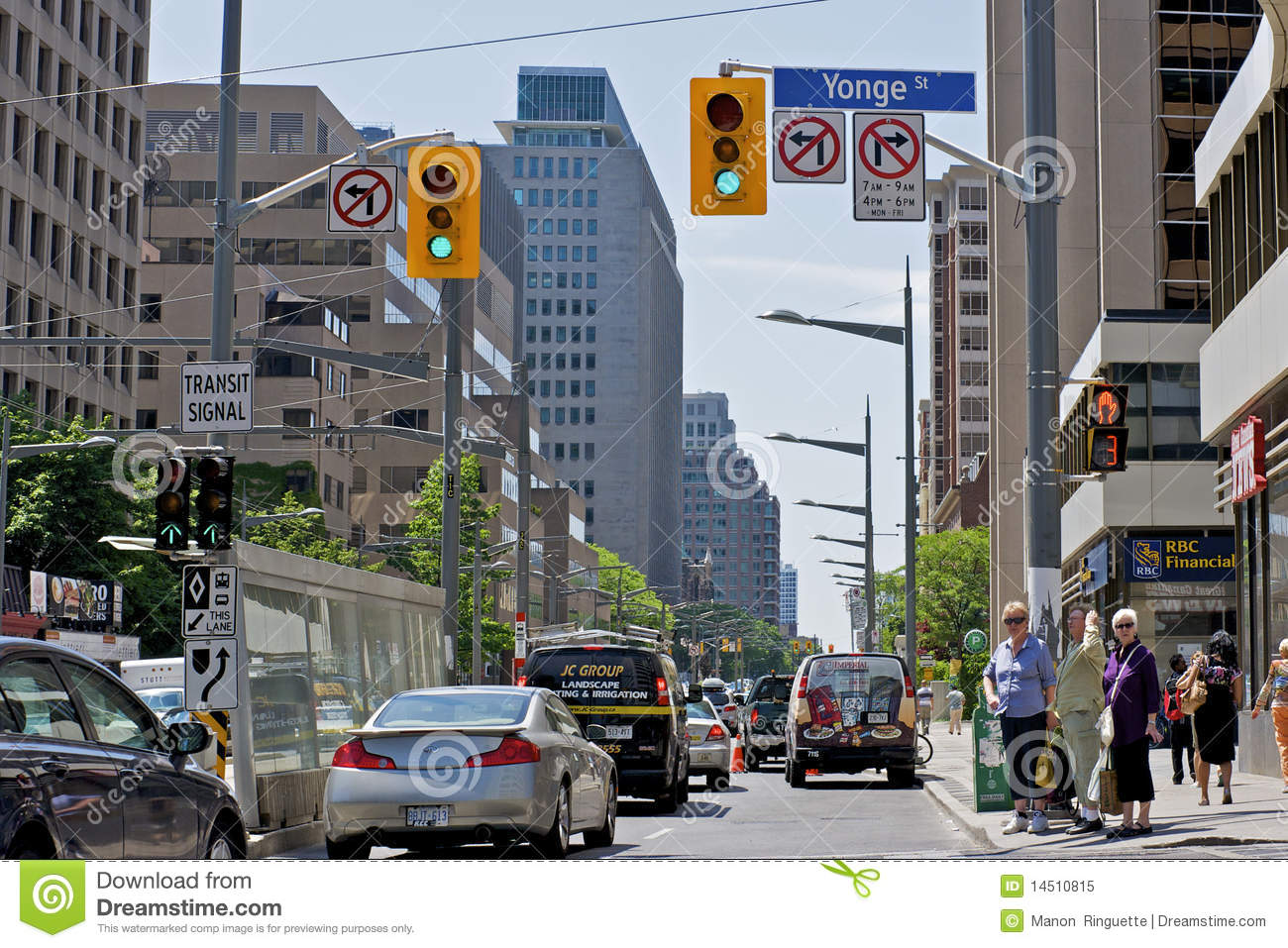 Toronto Traffic Congestion editorial image  Image of traffic - 14510815