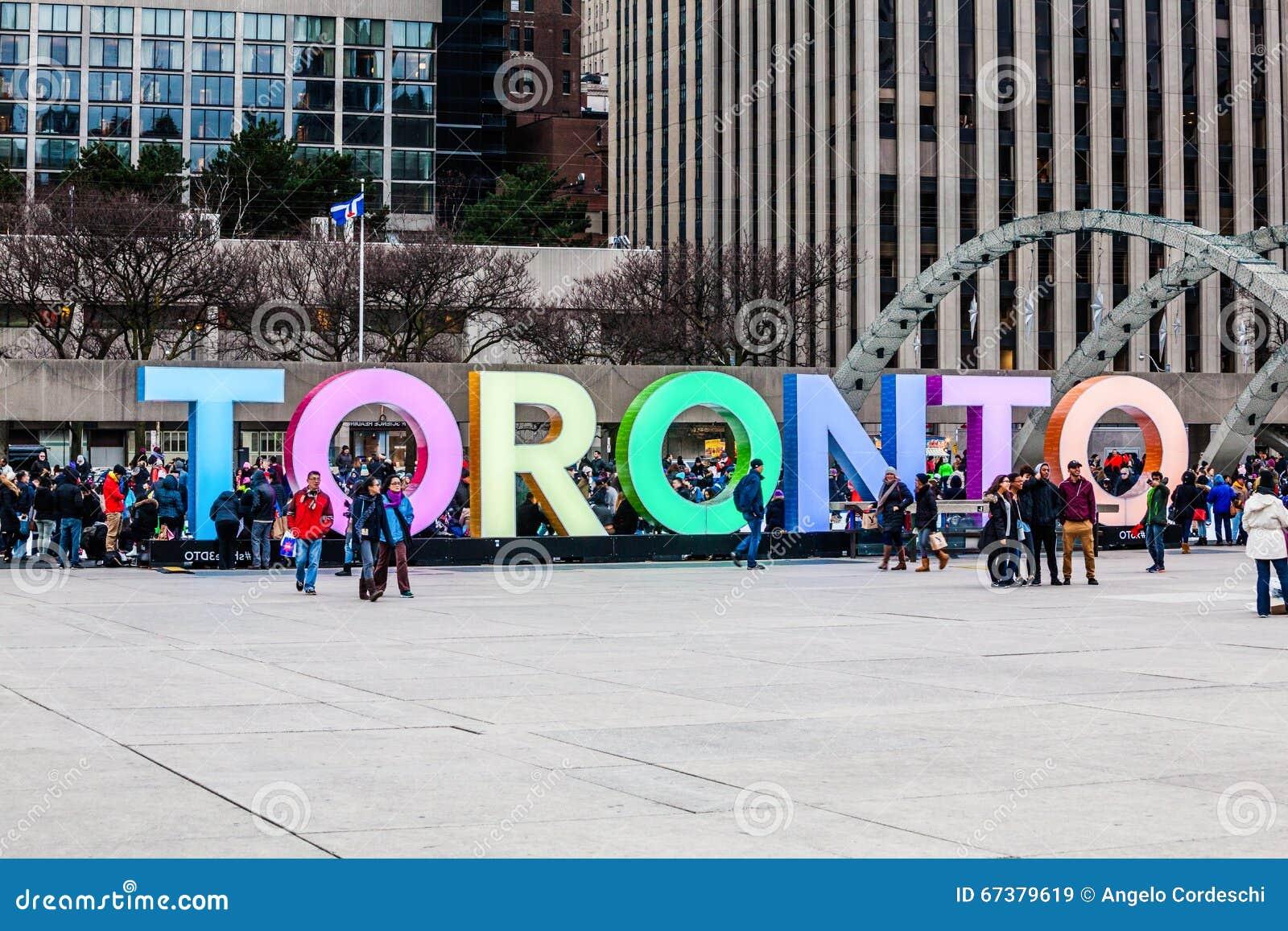 Toronto urząd miasta lub Nowy urząd miasta Łyżwiarski lodowisko Kanada