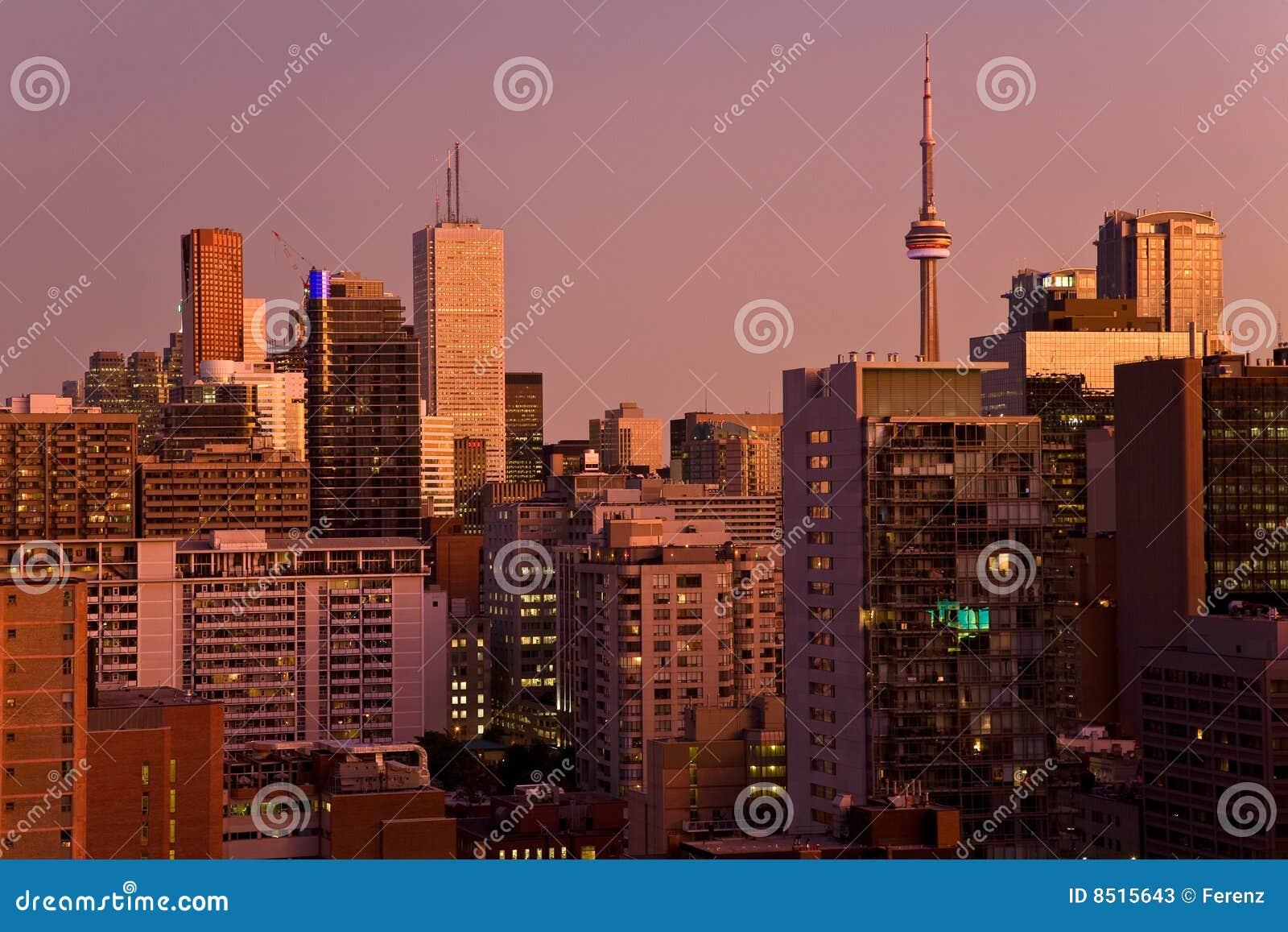 Toronto van de binnenstad