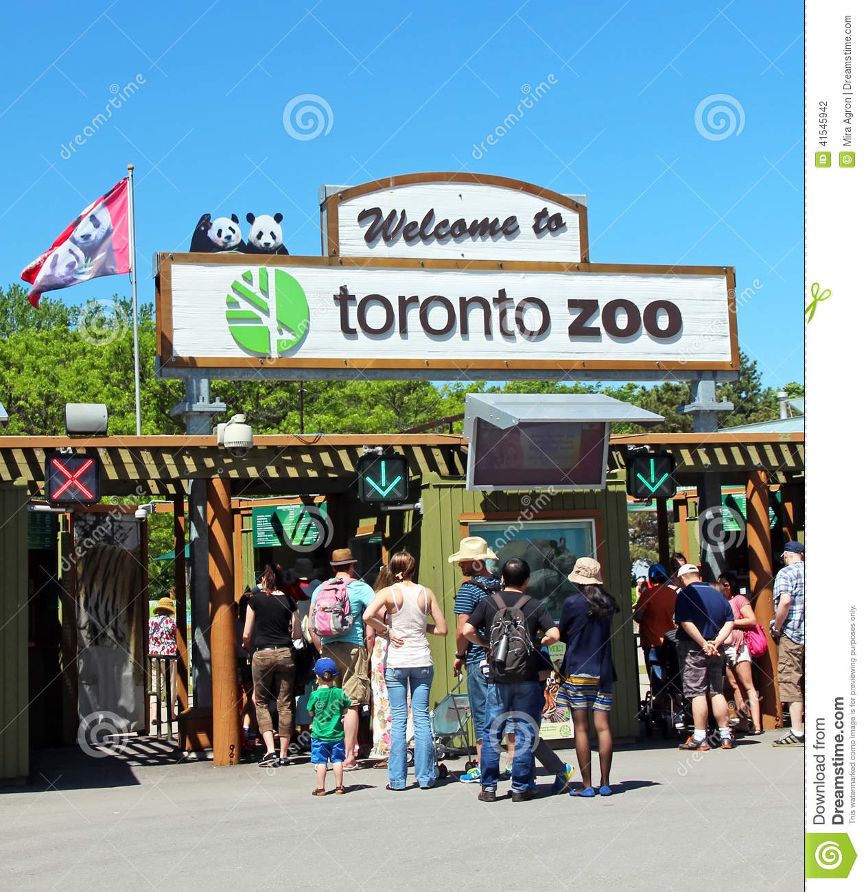... tickets to enter the zoo. The zoo is currently home to over 5,000