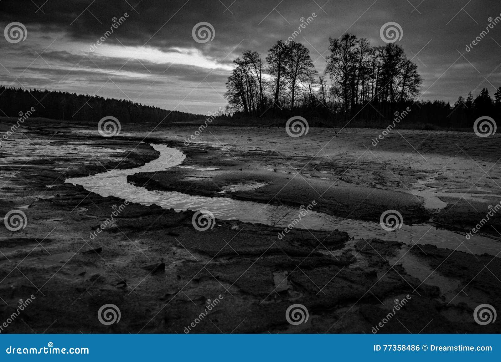 Torr sjö