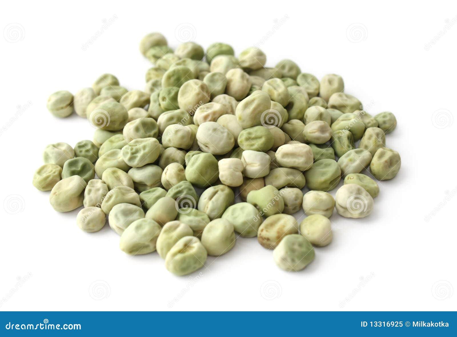 torra gröna ärtor