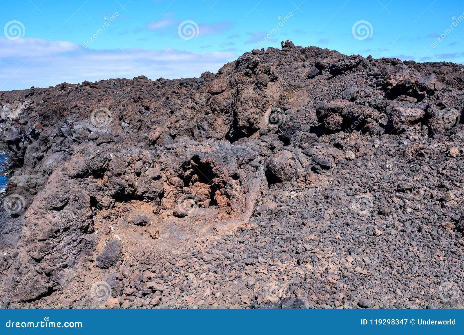 Torra Lava Basaltic Rock
