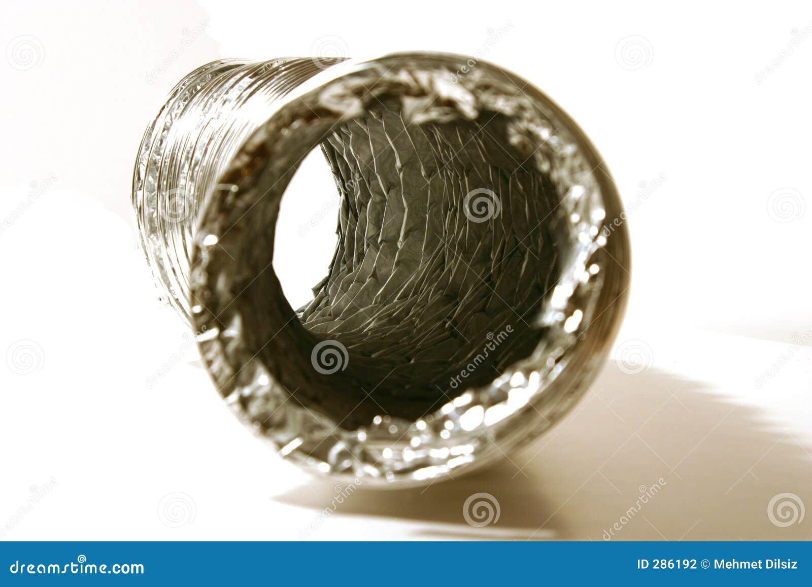 Torrare slang isolerat lufthål