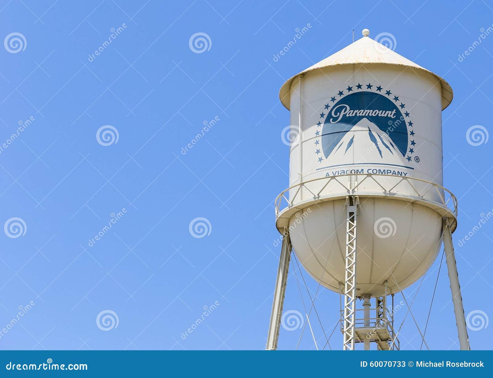 Torre de água dos estúdios de Paramount
