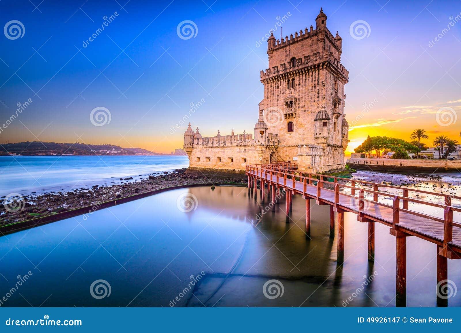 Torre de Belem en Portugal