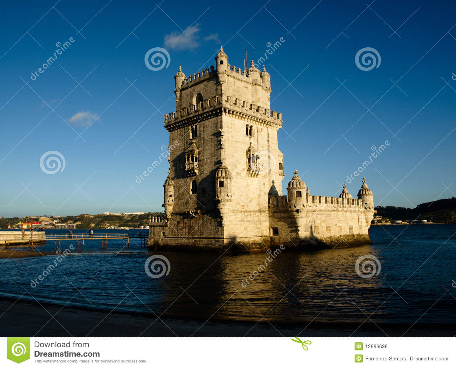 Torre De Belem - Lissabon - Portugal