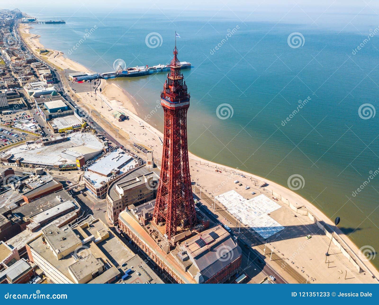 Torre de Blackpool en Blackpool, Reino Unido