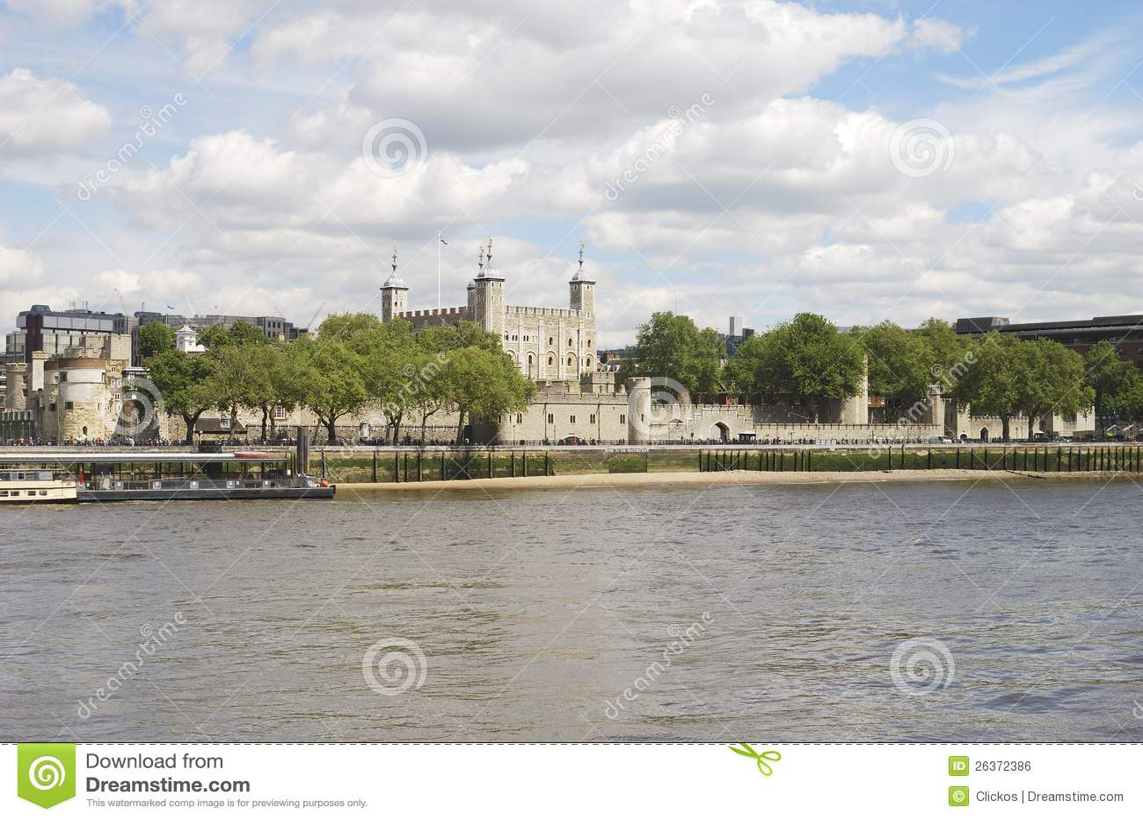 A torre de Londres. Inglaterra