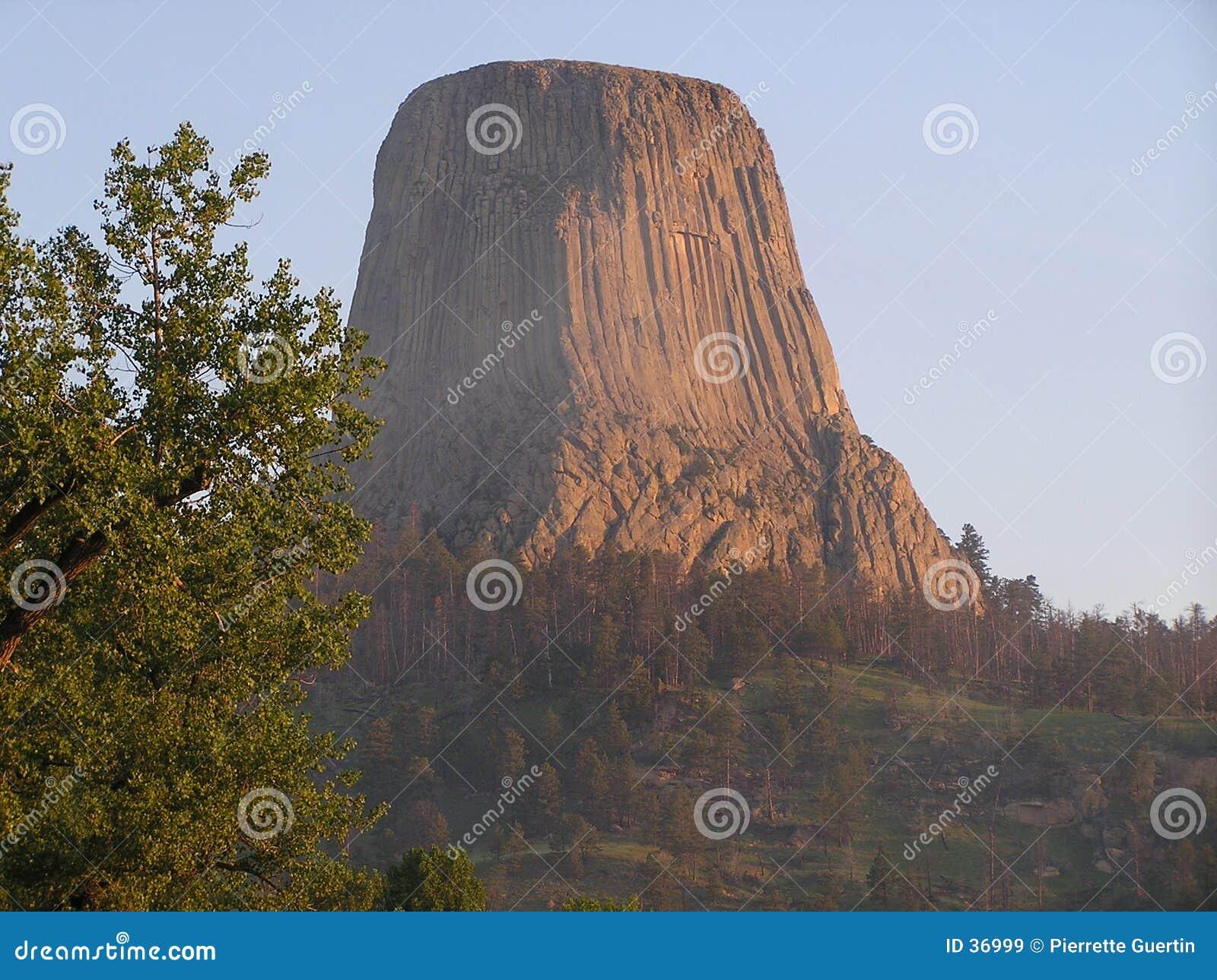 Download Torre De Los Diablos - Lugar Sagrado Imagen de archivo - Imagen de barrancas, sagrado: 36999