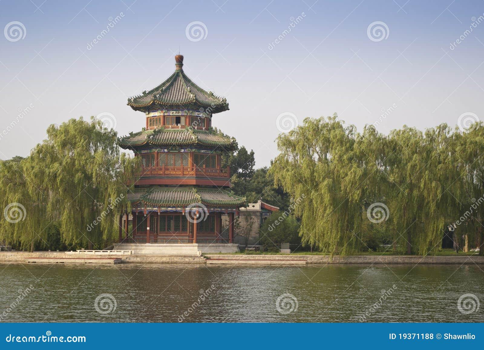Torre de madeira chinesa