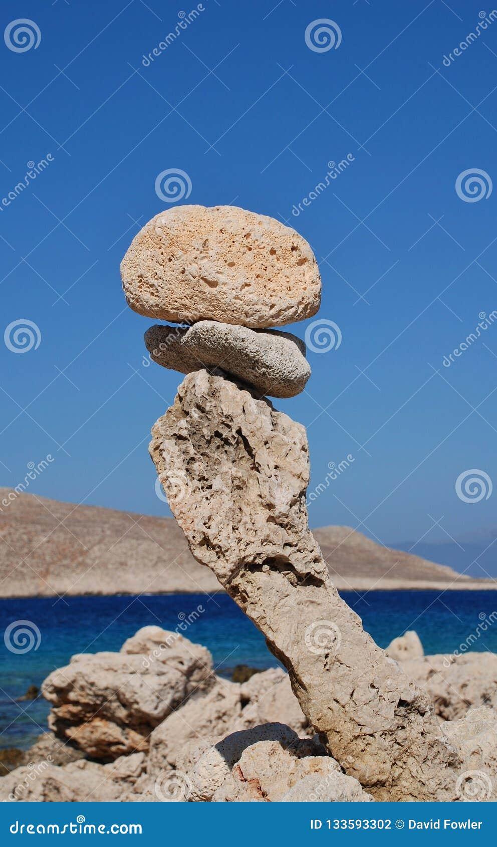 Torre de pedra, ilha de Halki