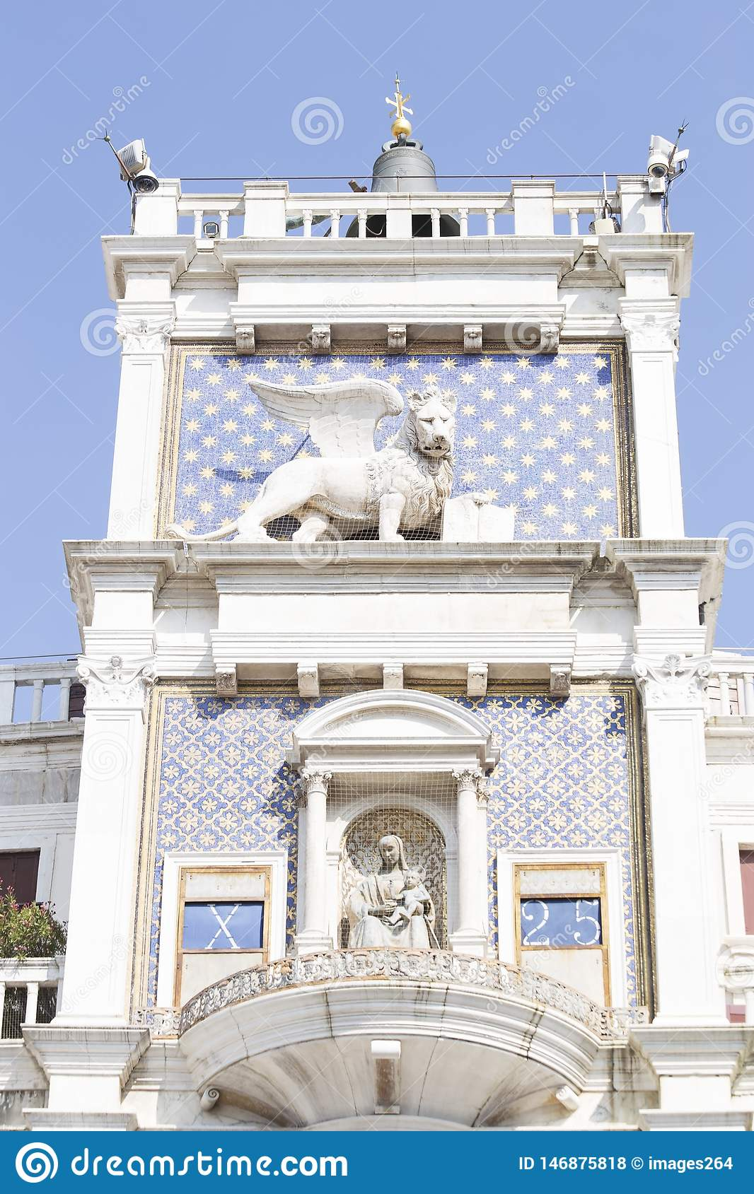 Torre de reloj del ` s de St Mark