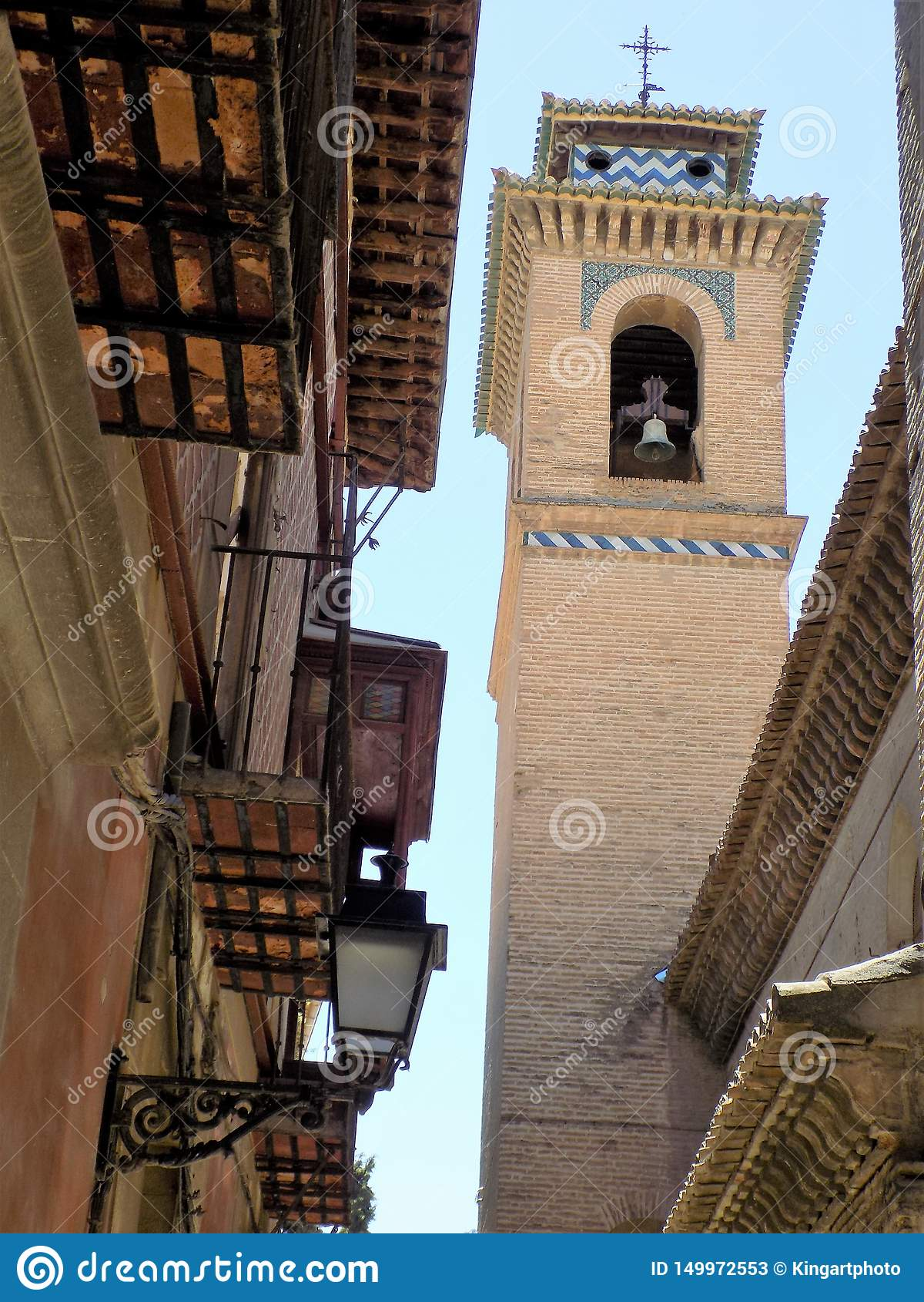 Torre de Santa Ana Church-Granada - a Andaluzia