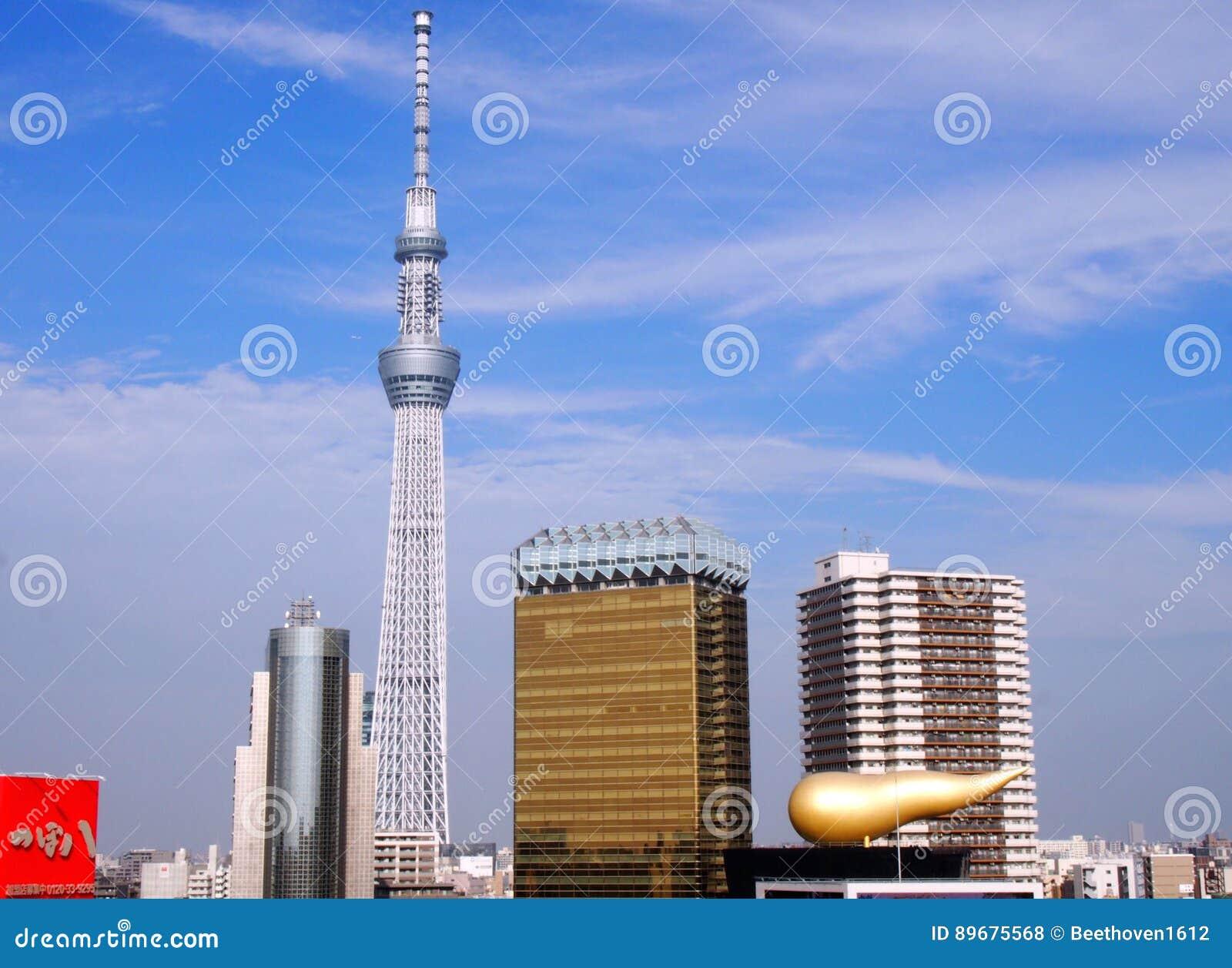 Torre de Skytree en Tokio Japón