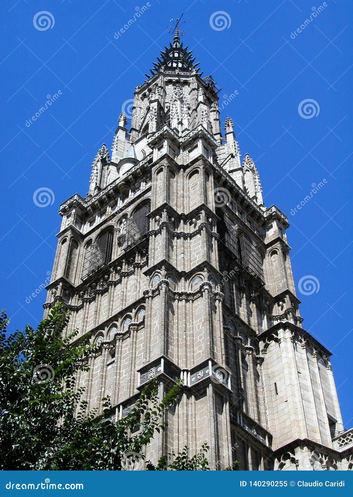 Torre de St Mary de Toledo, spain