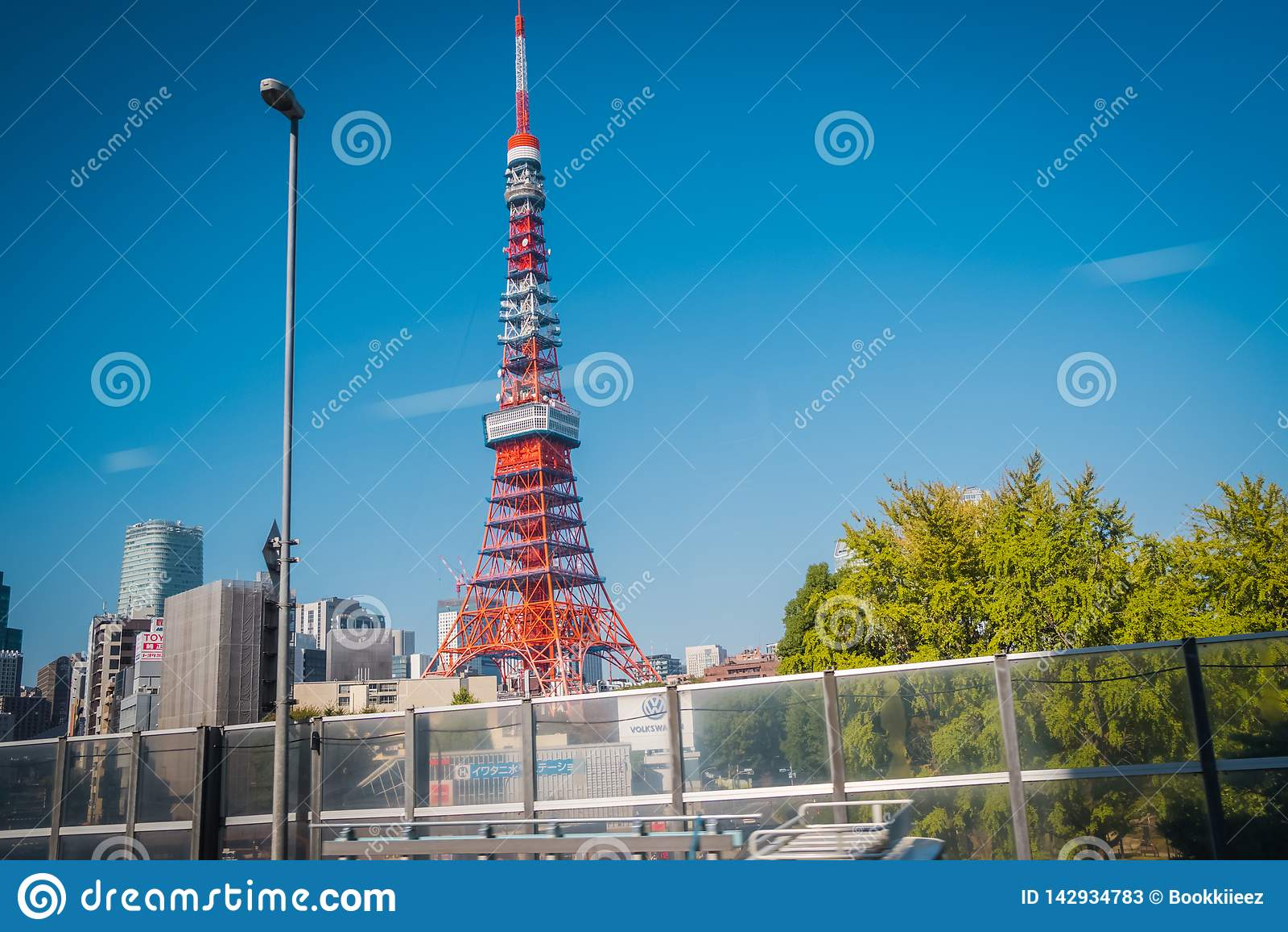Torre de Tokio en el distrito de Shiba-Koen, Tokio, Japón