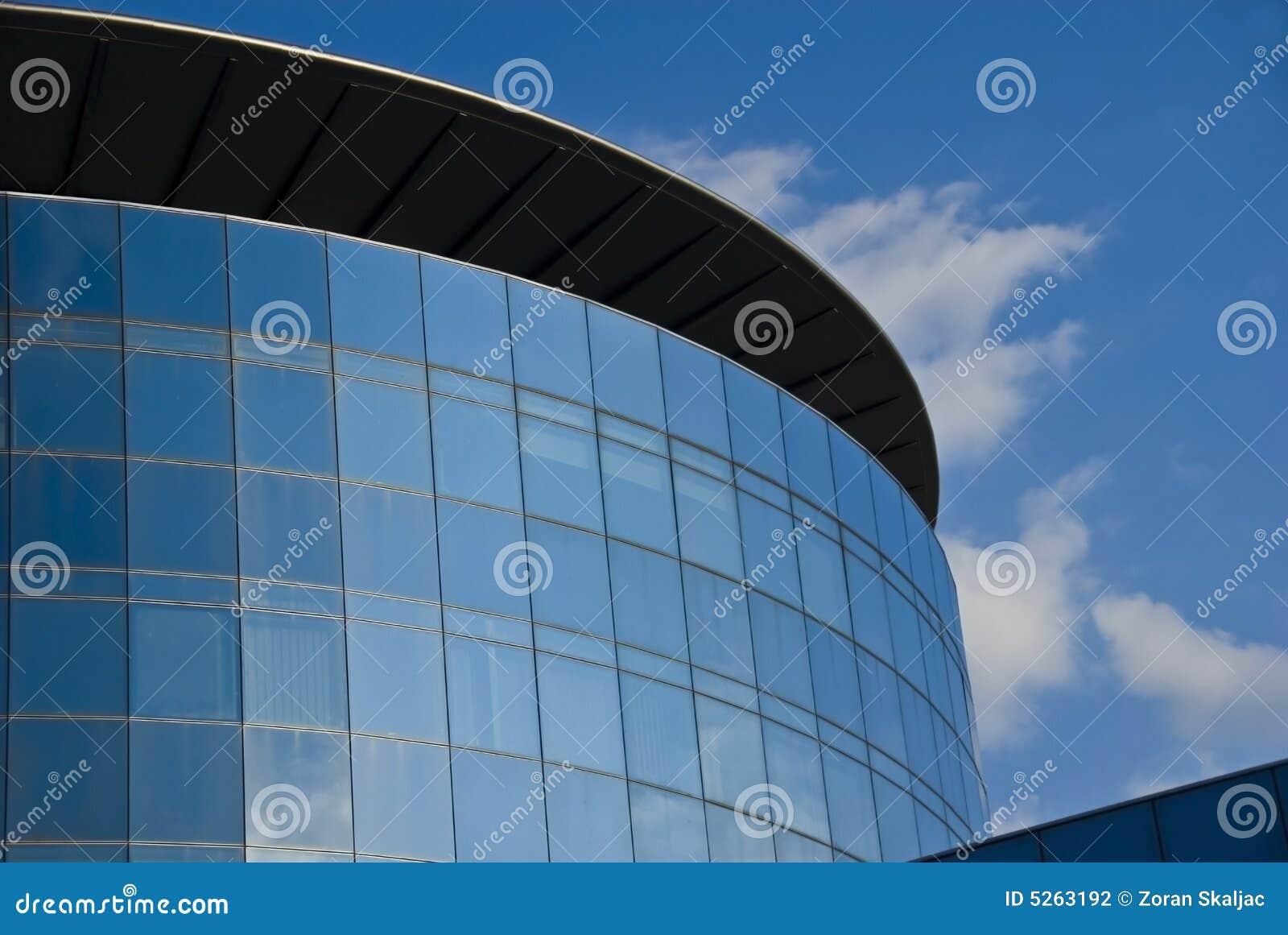 Torre de vidro - edifício corporativo