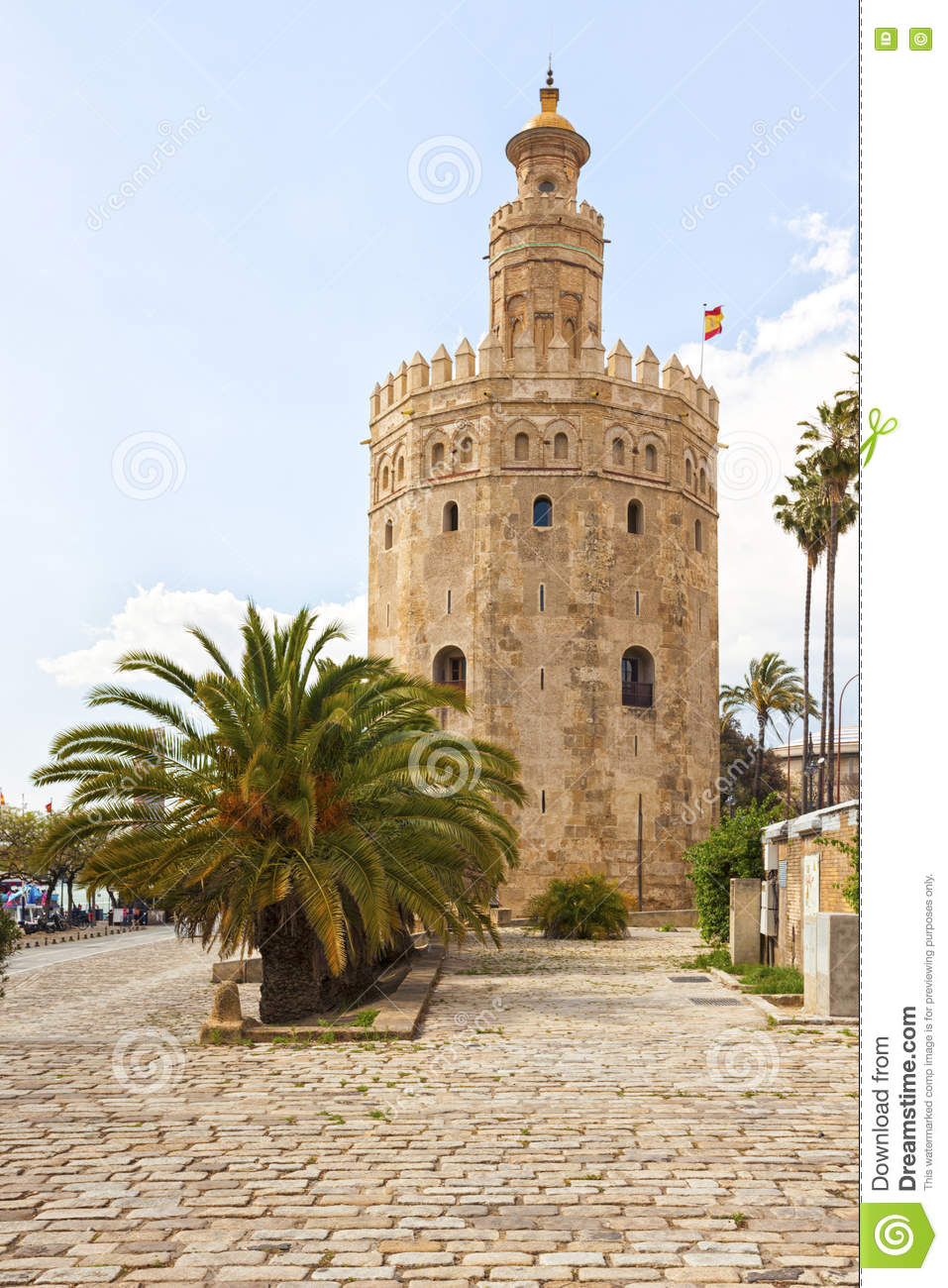 Torre del Oro, ancient lighthouse at Sevilla