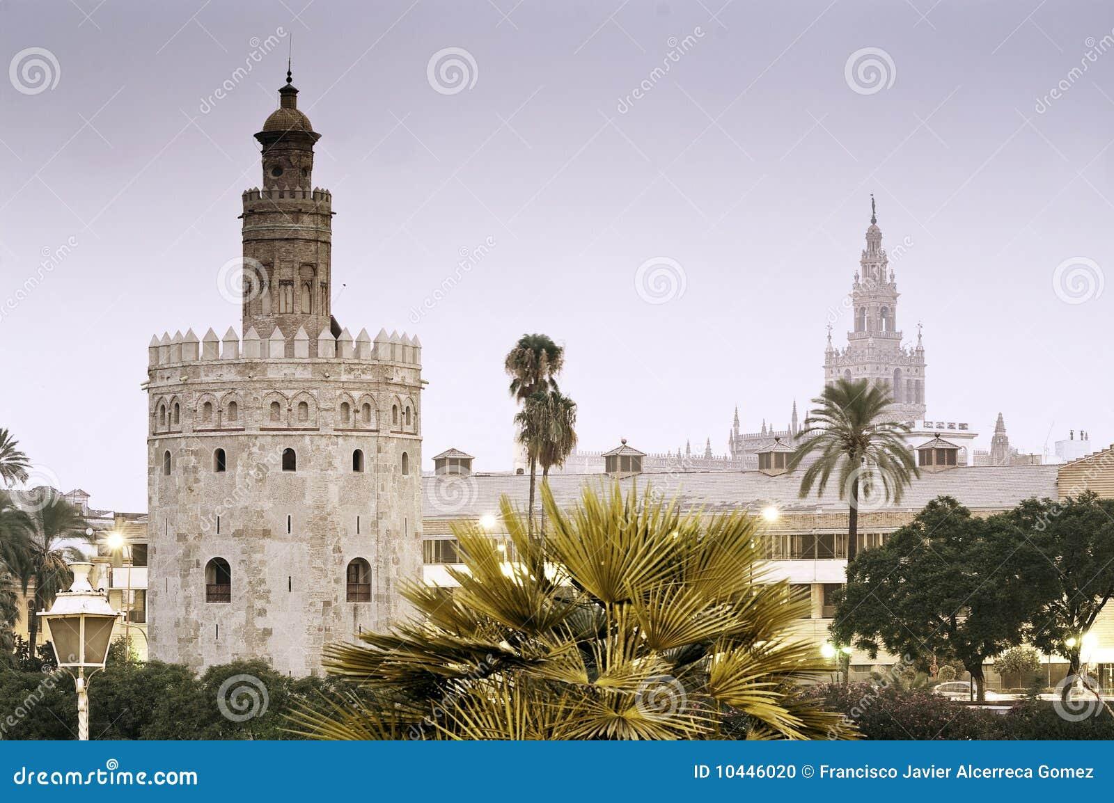 Torre del Oro and Giralda