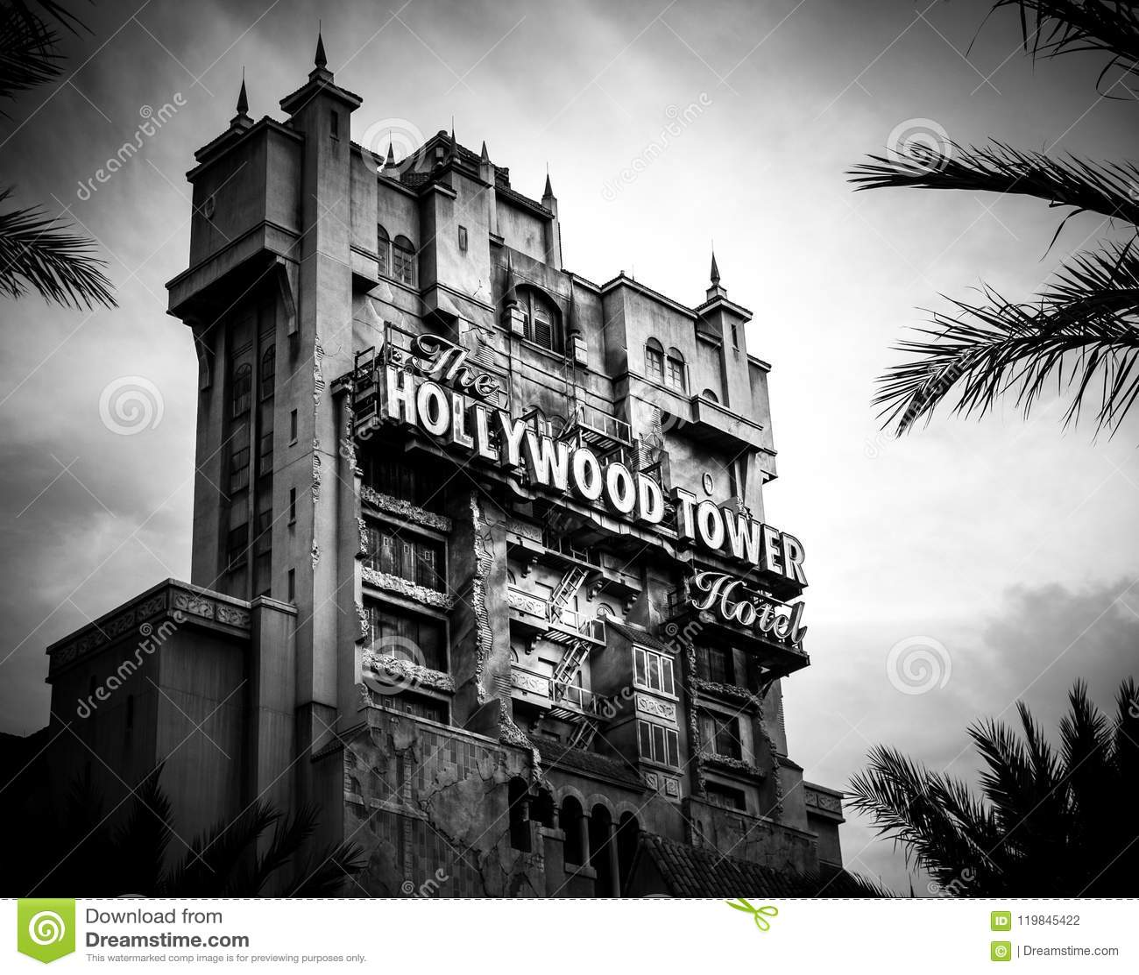 Torre del terrore - studi di Disney Hollywood di Hollywood - Orlando, Florida