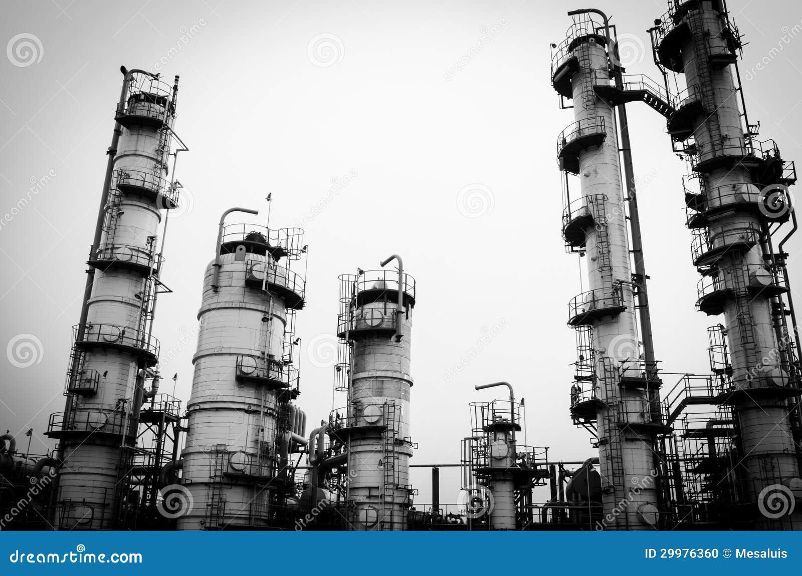 Torre della colonna in bianco e nero