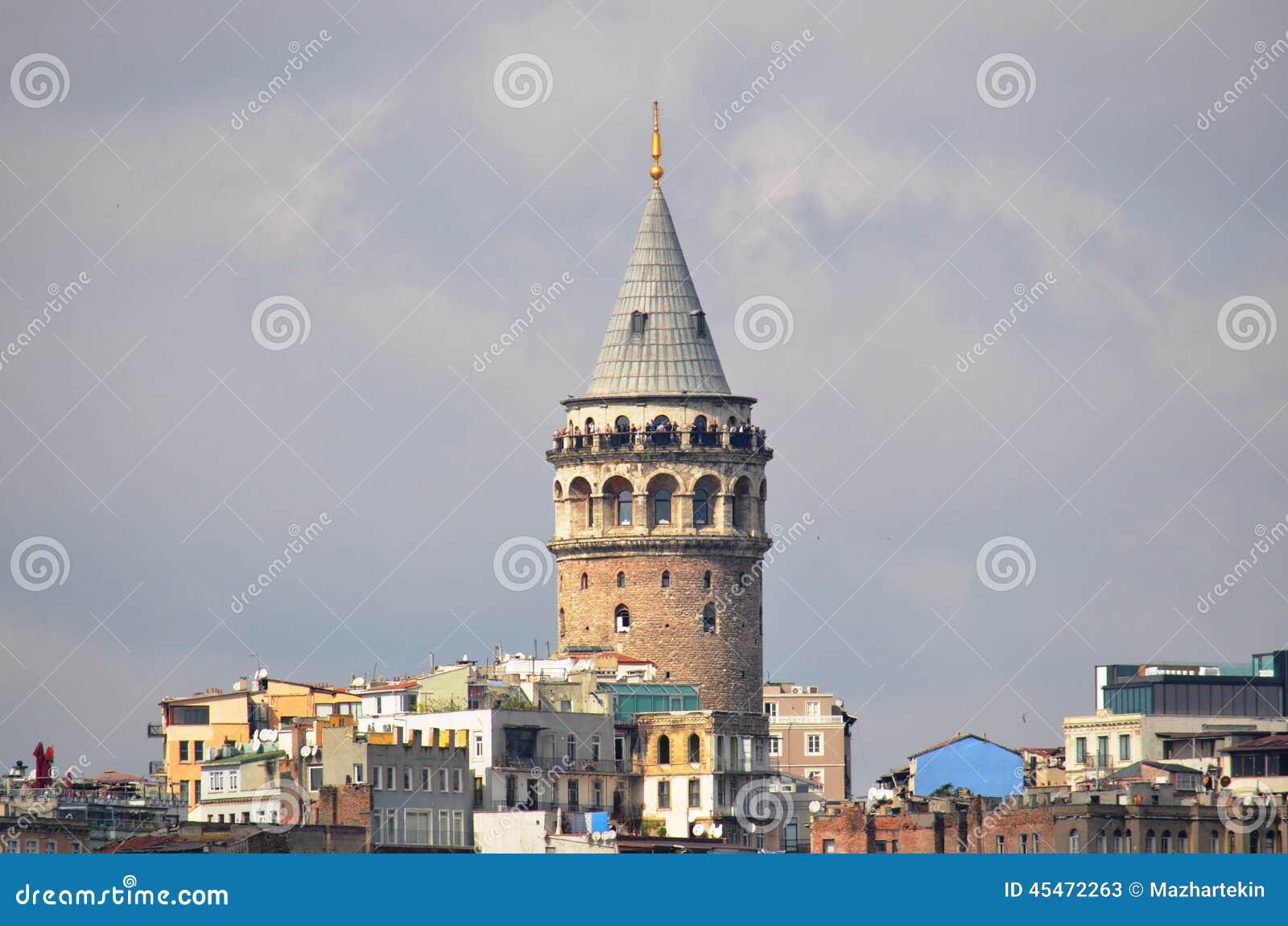 Torre di Galata, viste di Costantinopoli
