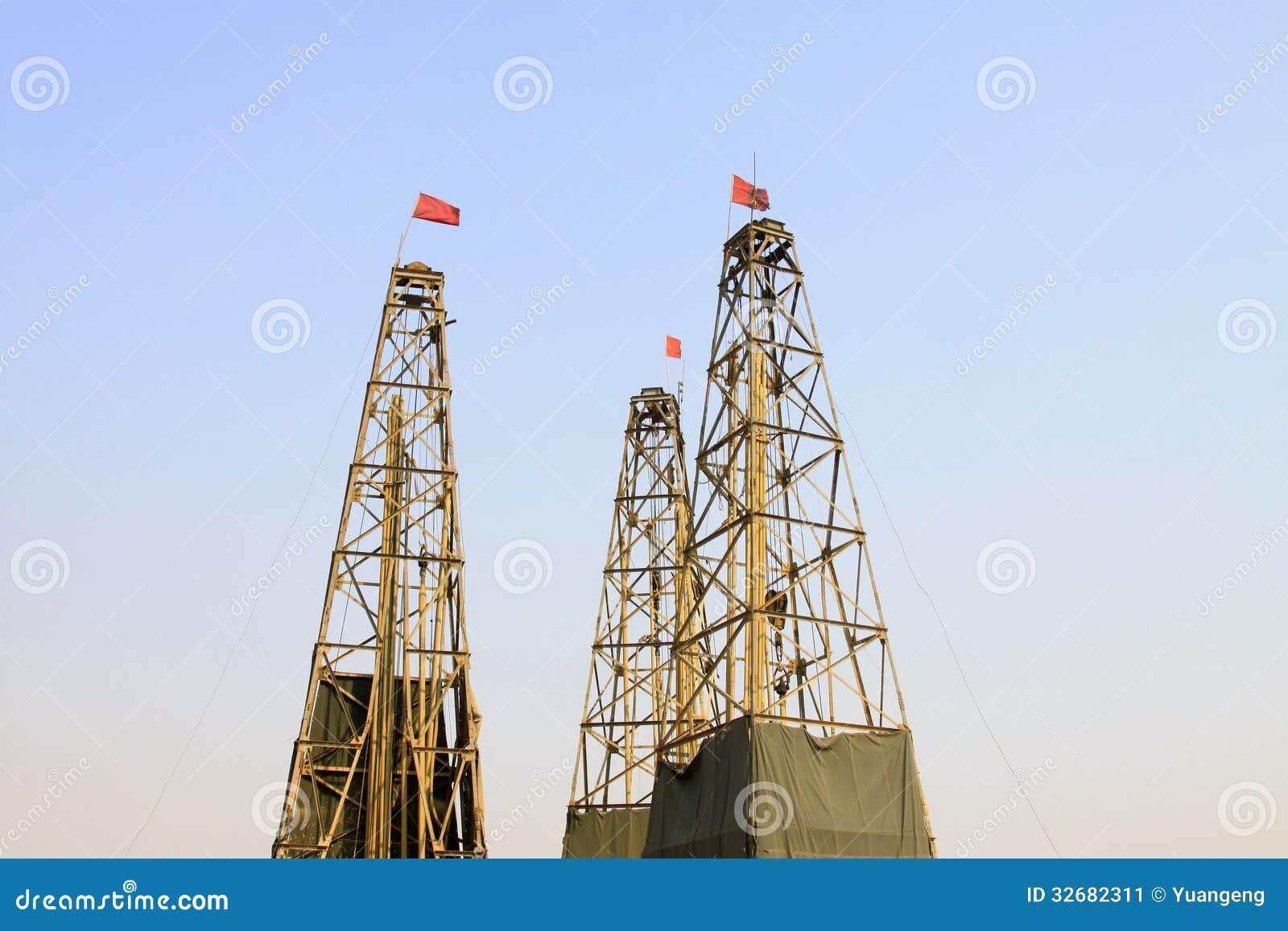Torre di perforazione in una miniera del ferro immagine for Costruire una torre di osservazione