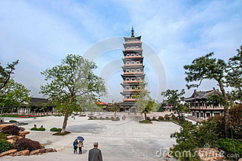Torre do habitat de Yangzhou Daming Si