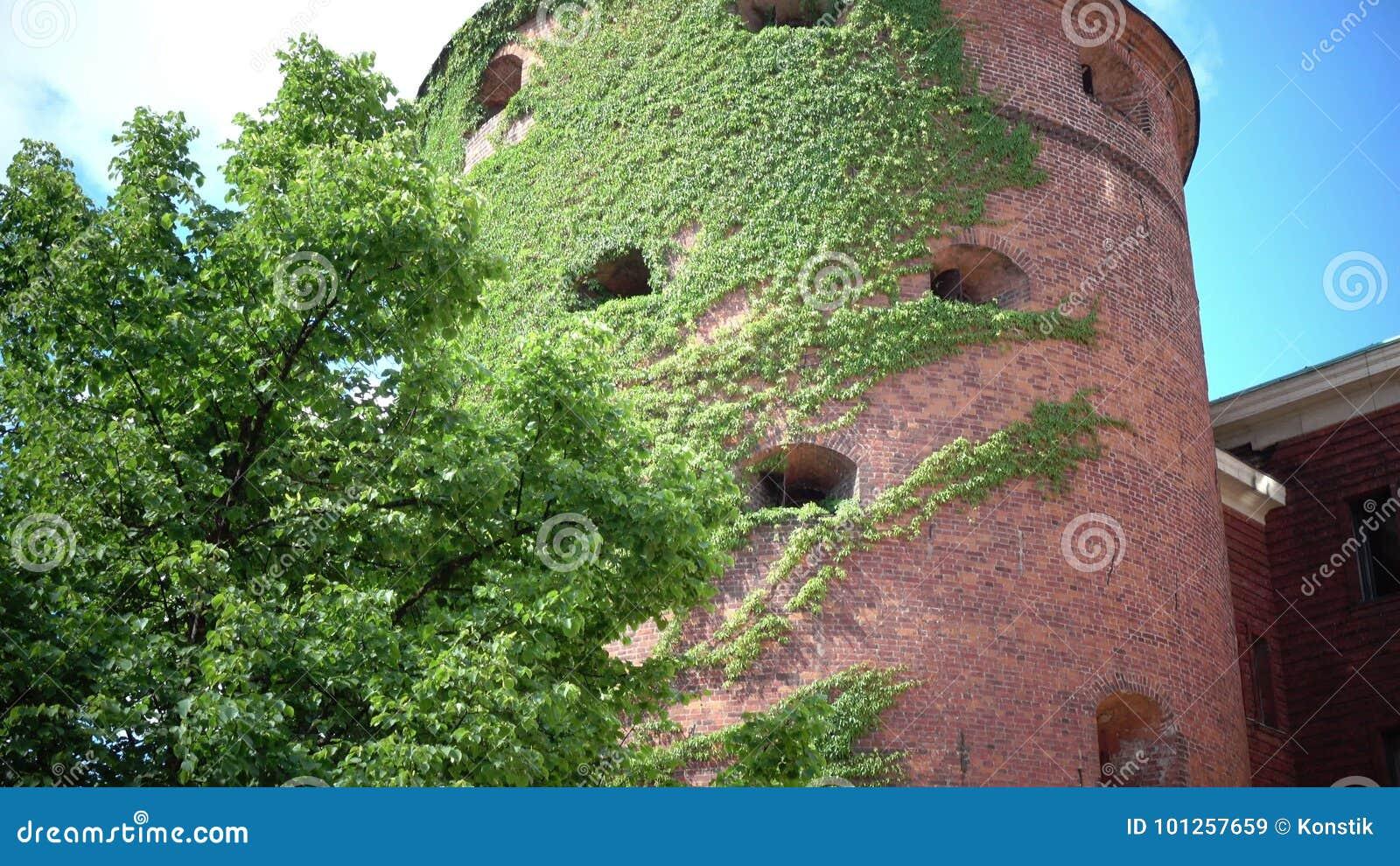 A torre do pó é situada em Riga, em Letónia, e originalmente em uma parte do sistema defensivo da cidade A estrutura filme
