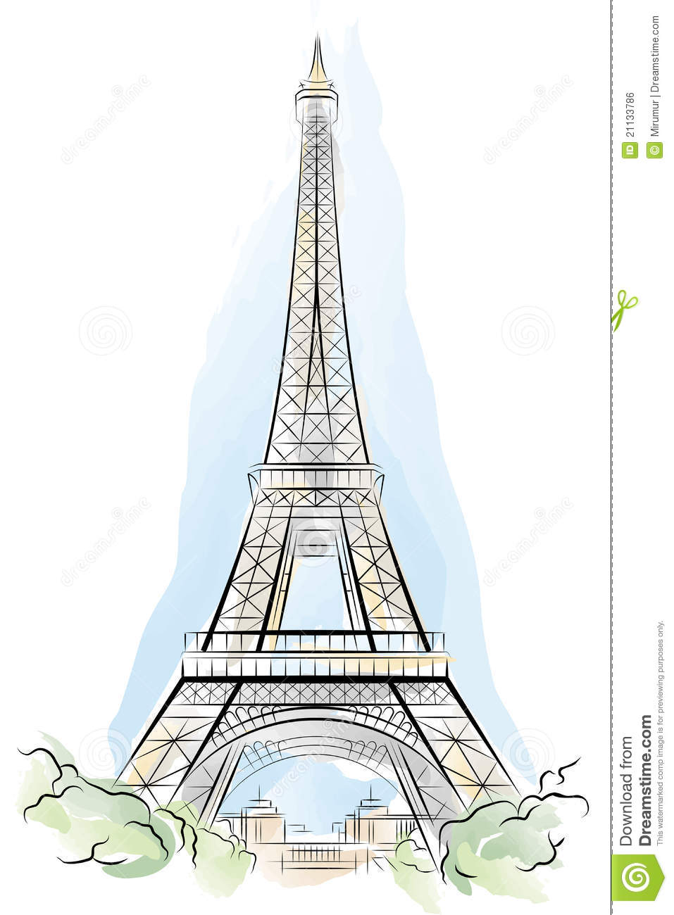 Pin gun printable coloring page on pinterest for Torre enfel