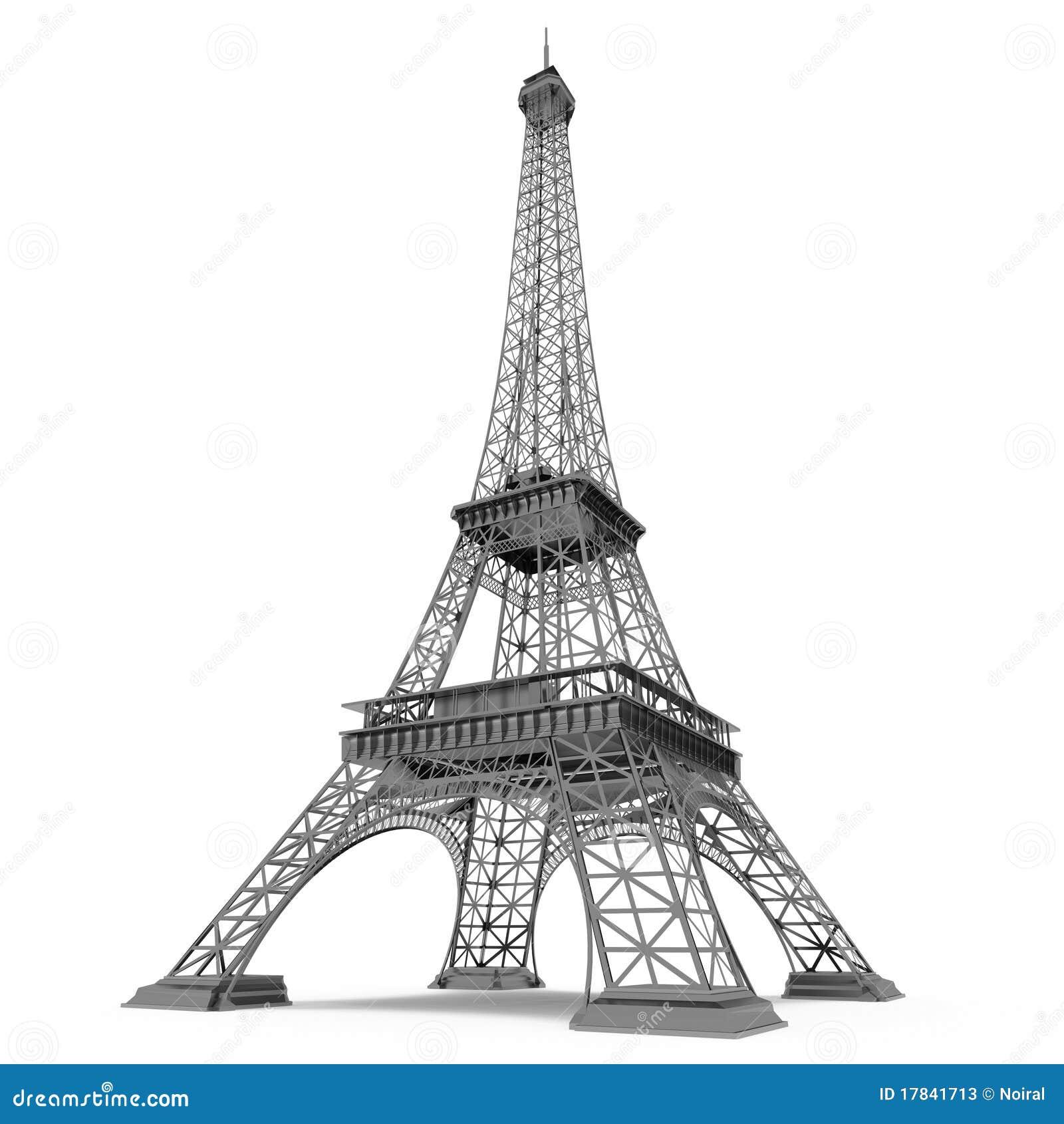 La tour eiffel eiffel tower clip art at vector clip image 1 - Torre Eiffel A Parigi Fotografie Stock Immagine 17841713