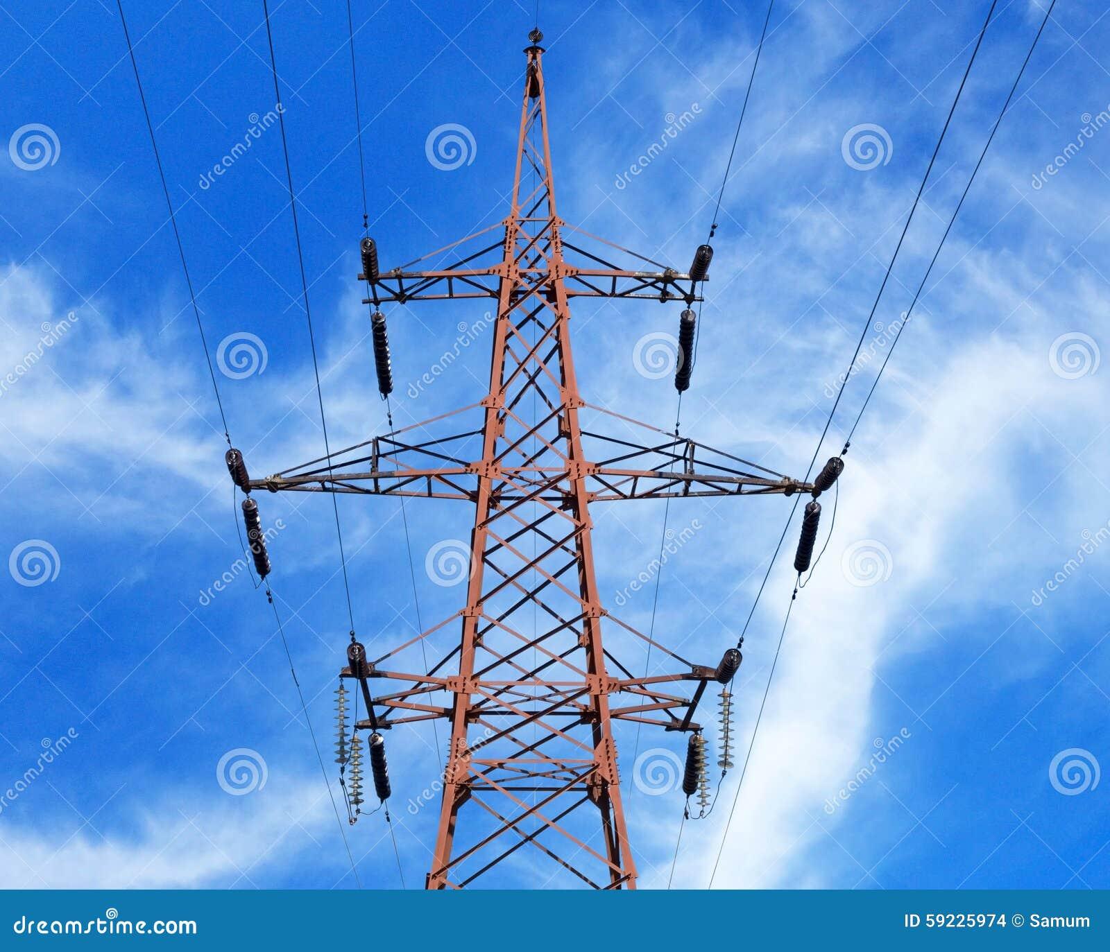Download Torre eléctrica foto de archivo. Imagen de powerful, potencia - 59225974