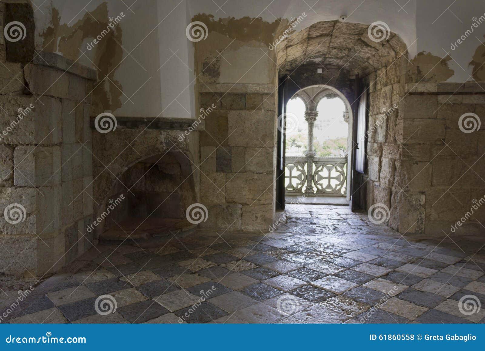 Torre interna di belem dell 39 interno della stanza for Interno della torretta vittoriana