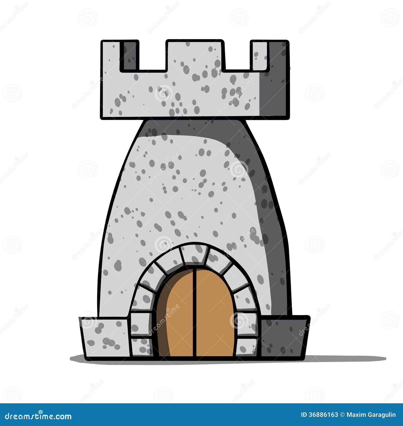 Download Torre Medievale Del Fumetto. Illustrazione Di Vettore Illustrazione Vettoriale - Illustrazione di fantasia, storia: 36886163